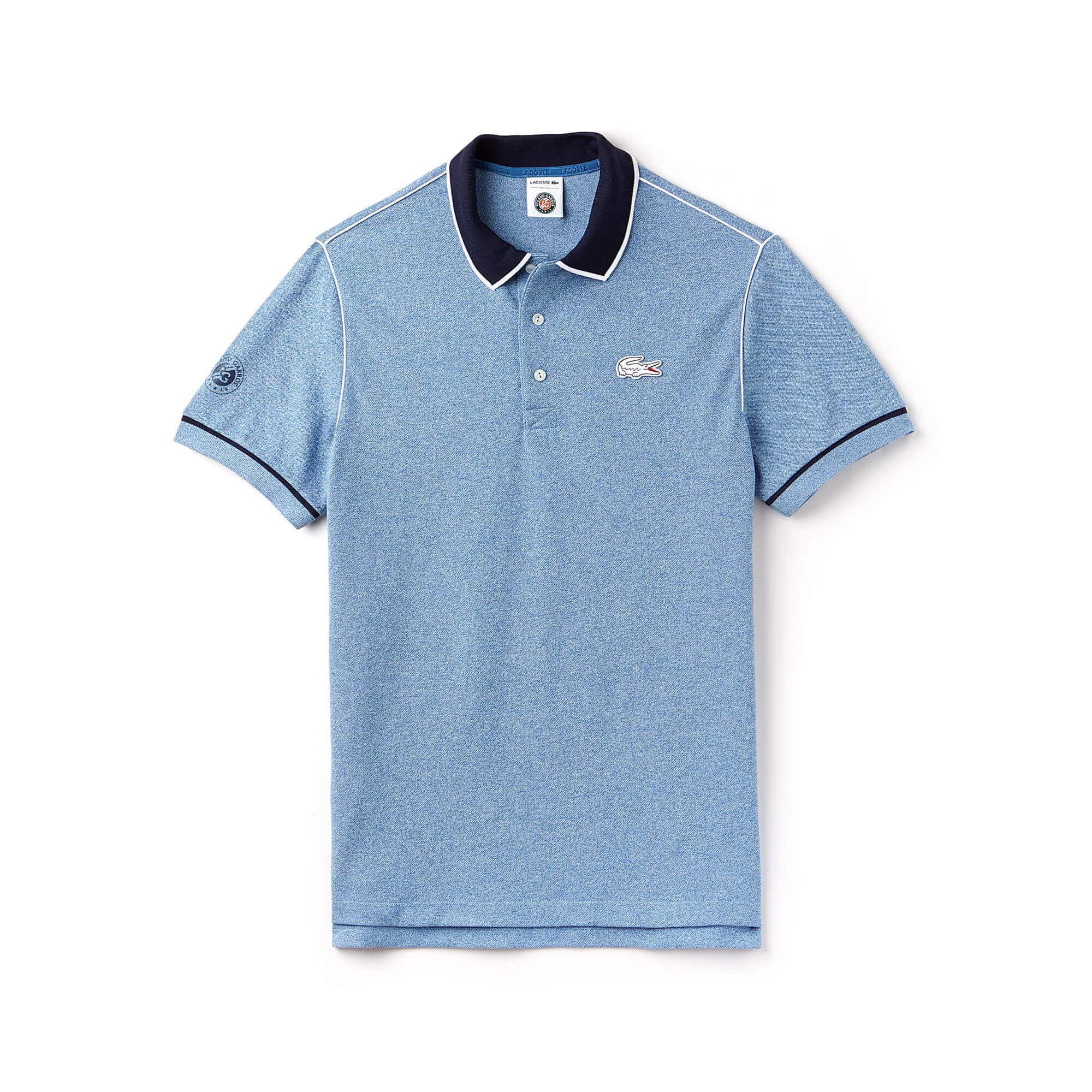 10b08c5d7ed55 ... Polo Lacoste SPORT de mini piqué con cordoncillo Edición Roland Garros