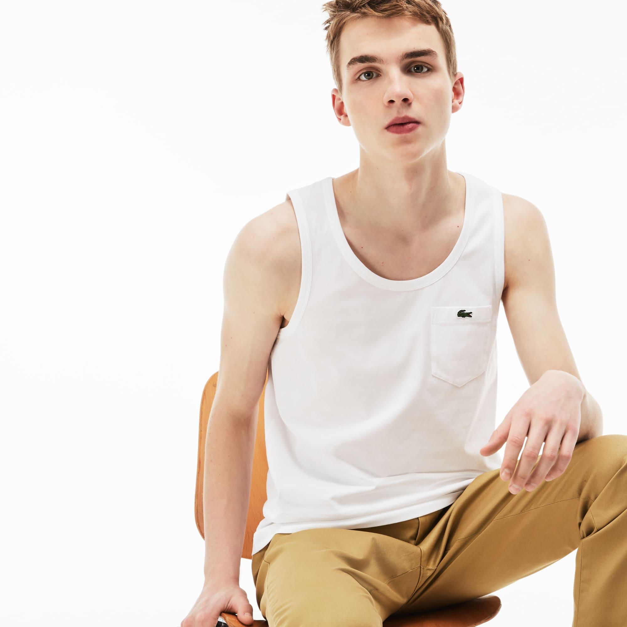 Camiseta Tirantes Hombre Lacoste Live