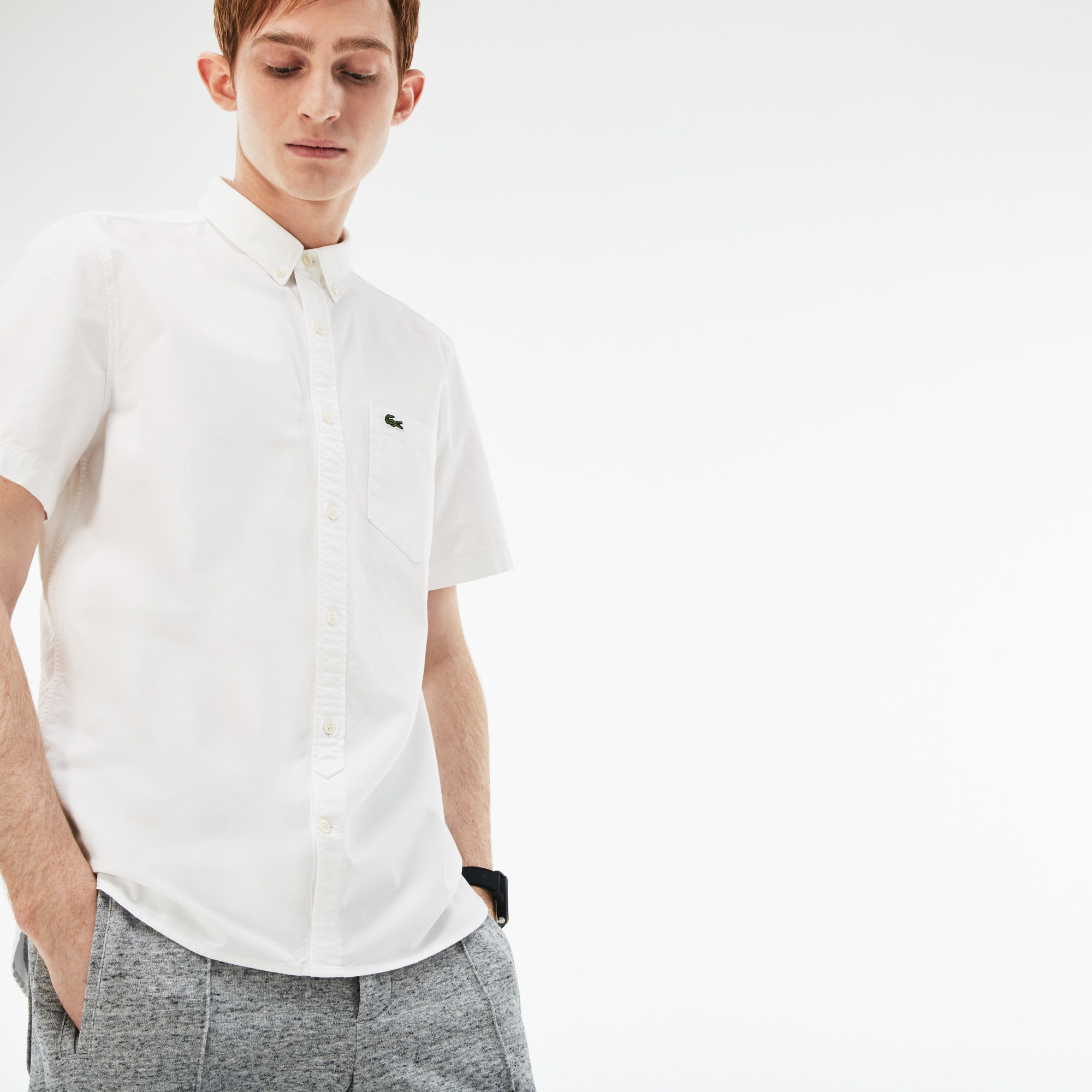 Camisa Hombre Lacoste Live Skinny Fit