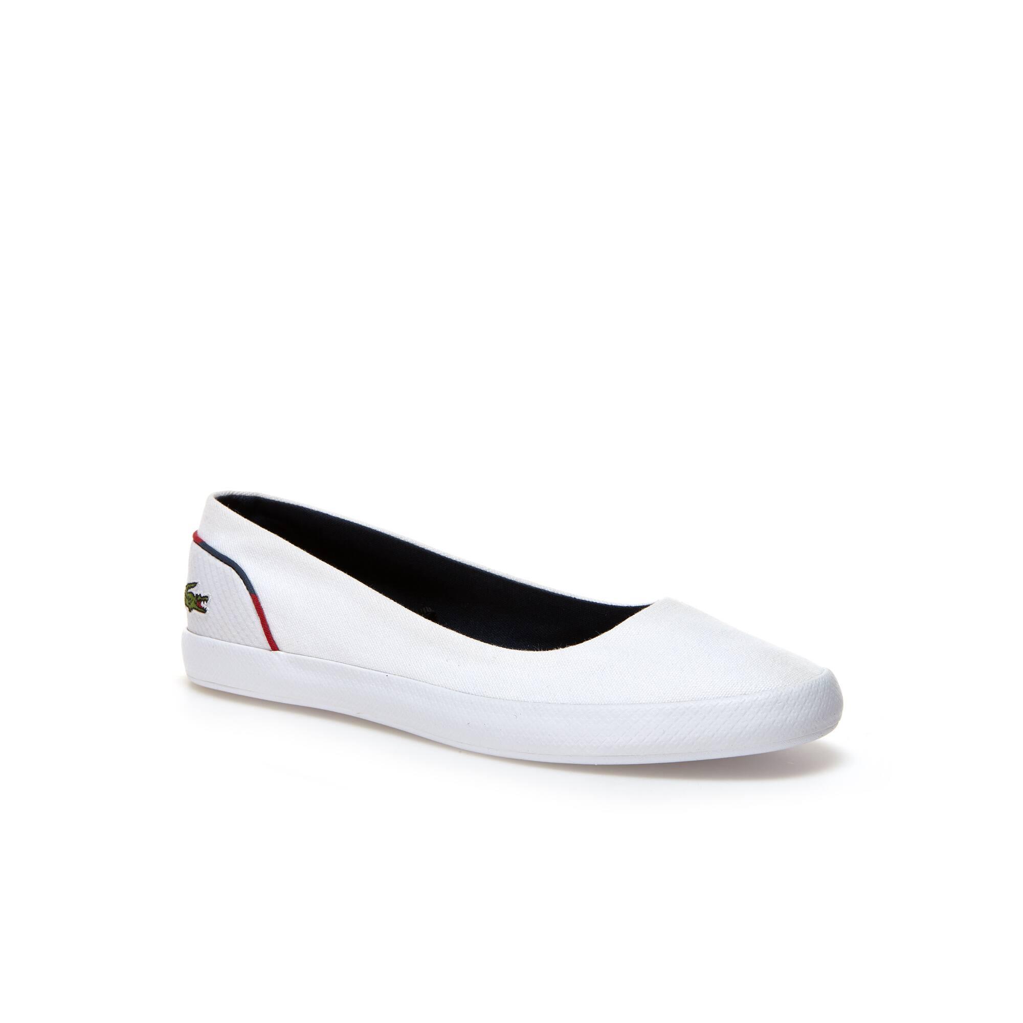 Zapatillas Sin Cordones Mujer Lancelle Ballerina De Loneta