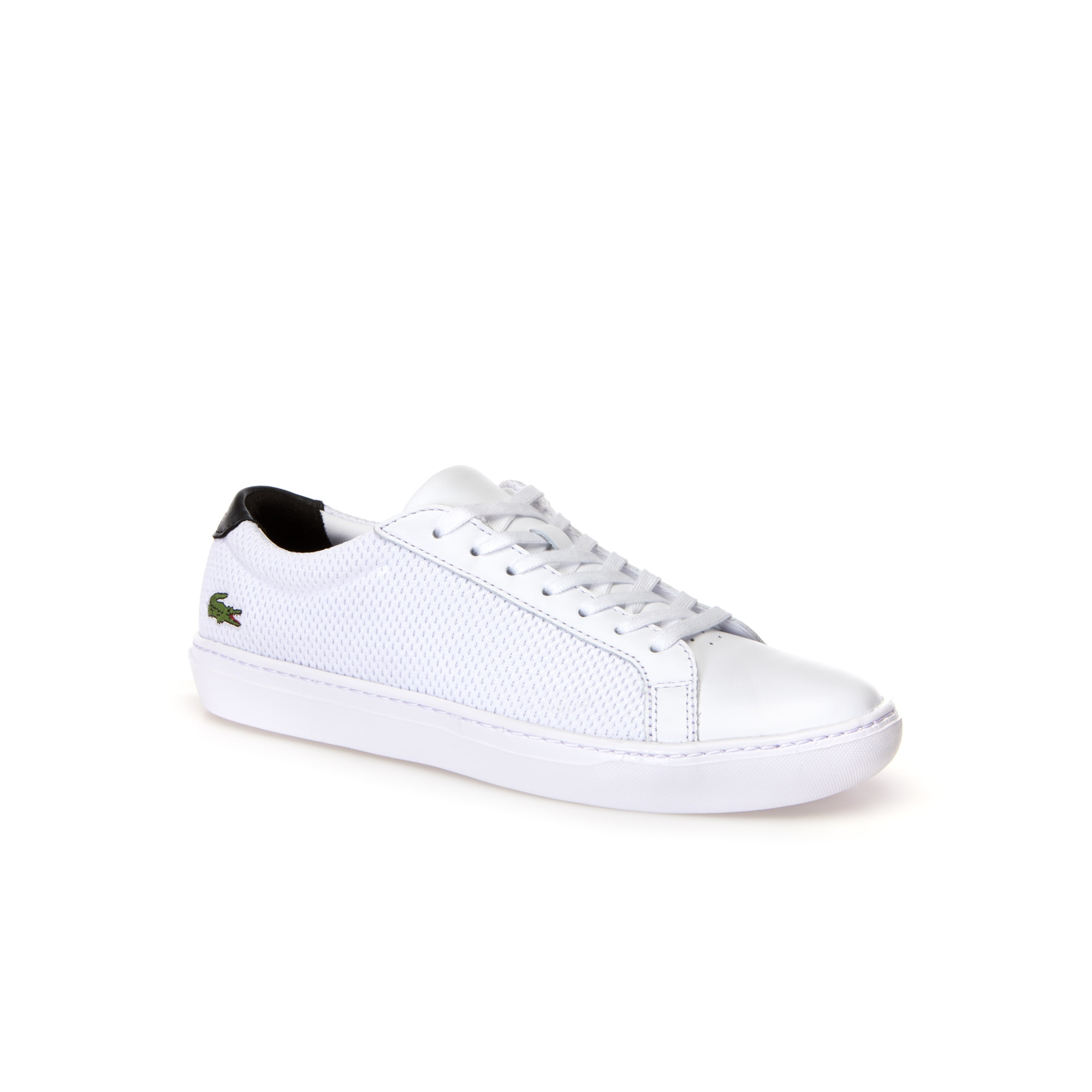Zapatillas de hombre L.12.12 LIGHT-WT de piel y material textil