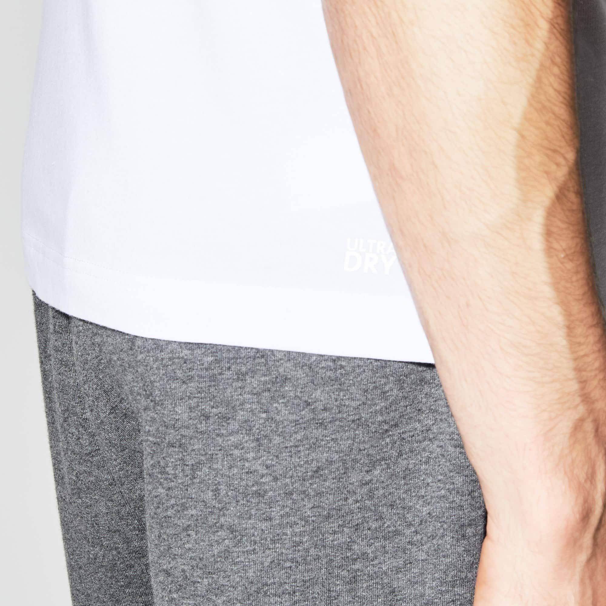 Lacoste - Camiseta De Hombre Lacoste SPORT Tennis Game Time En Tejido De Punto Con Cuello Redondo - 5