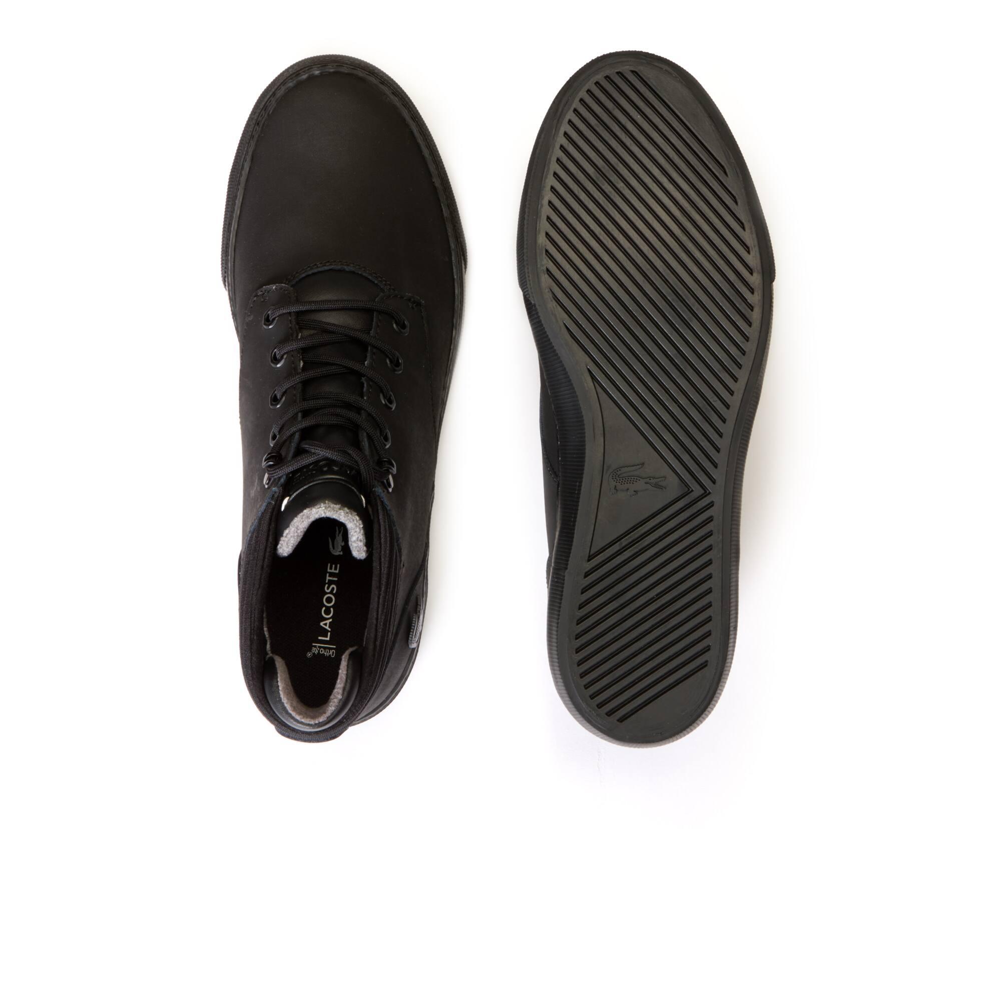 Lacoste - Zapatillas bota de hombre Esparre Winter de piel - 4