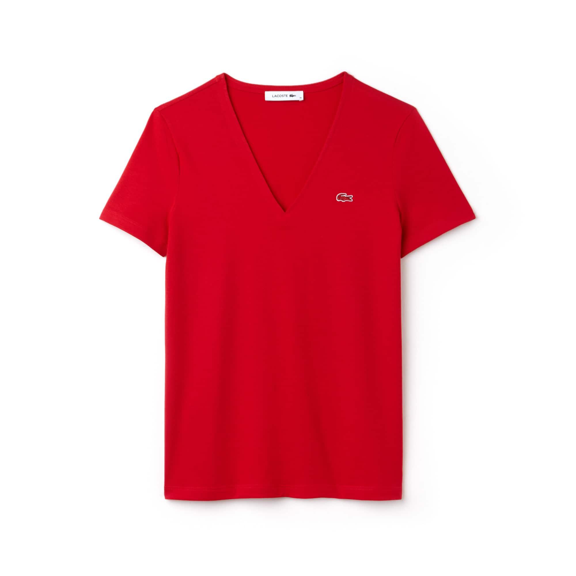 Camiseta Cuello Pico Slim Fit