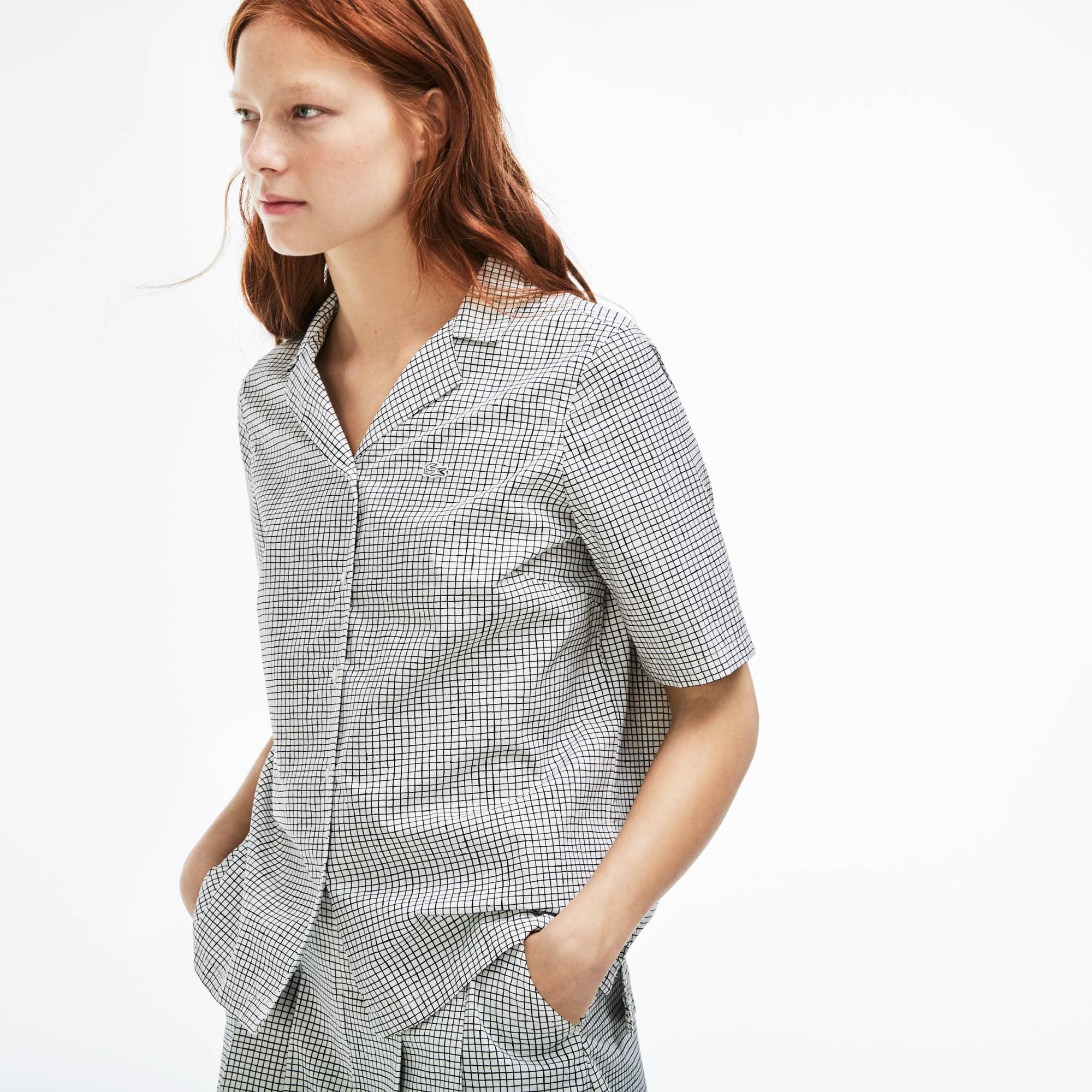 Camisa Mujer Estampada Lacoste Live