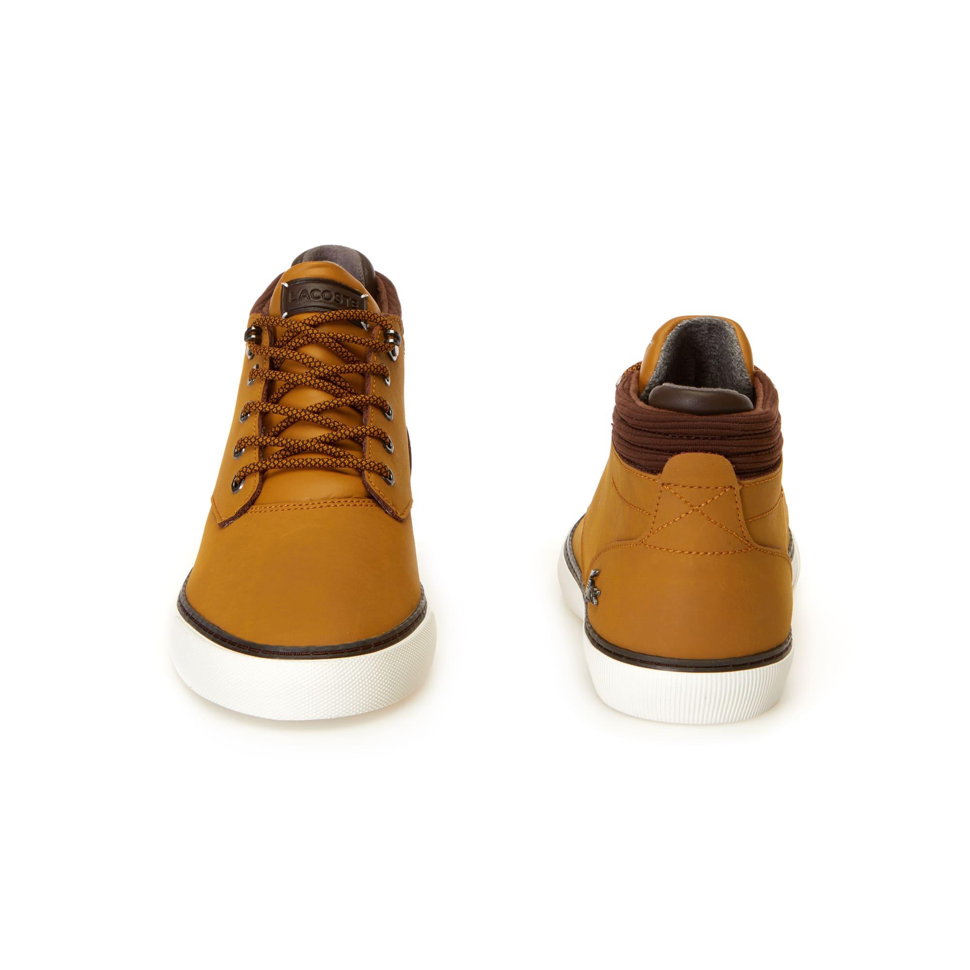 Lacoste - Zapatillas bota de hombre Esparre Winter de piel - 5