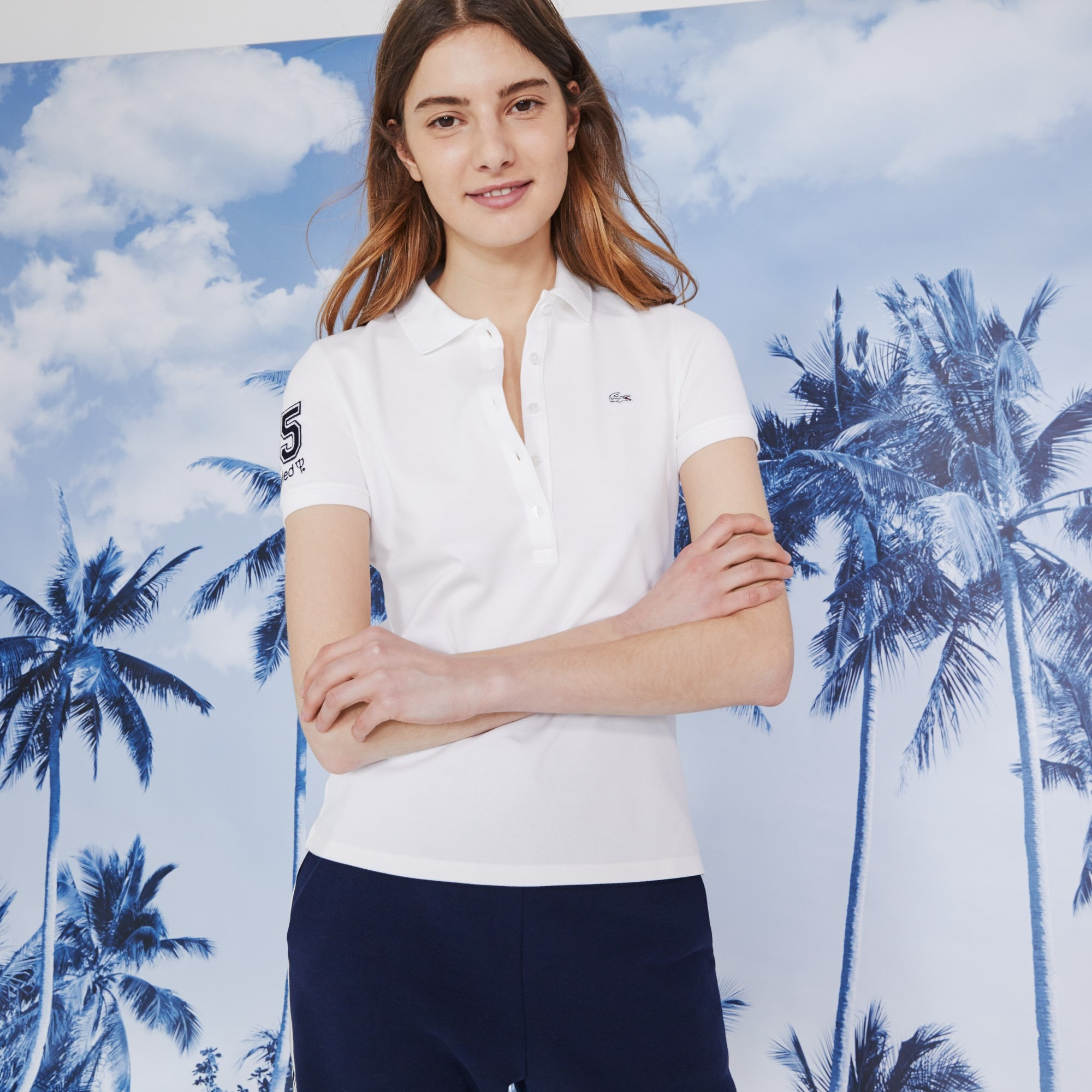 Lacoste - Polo De Mujer Lacoste Club Med - 7