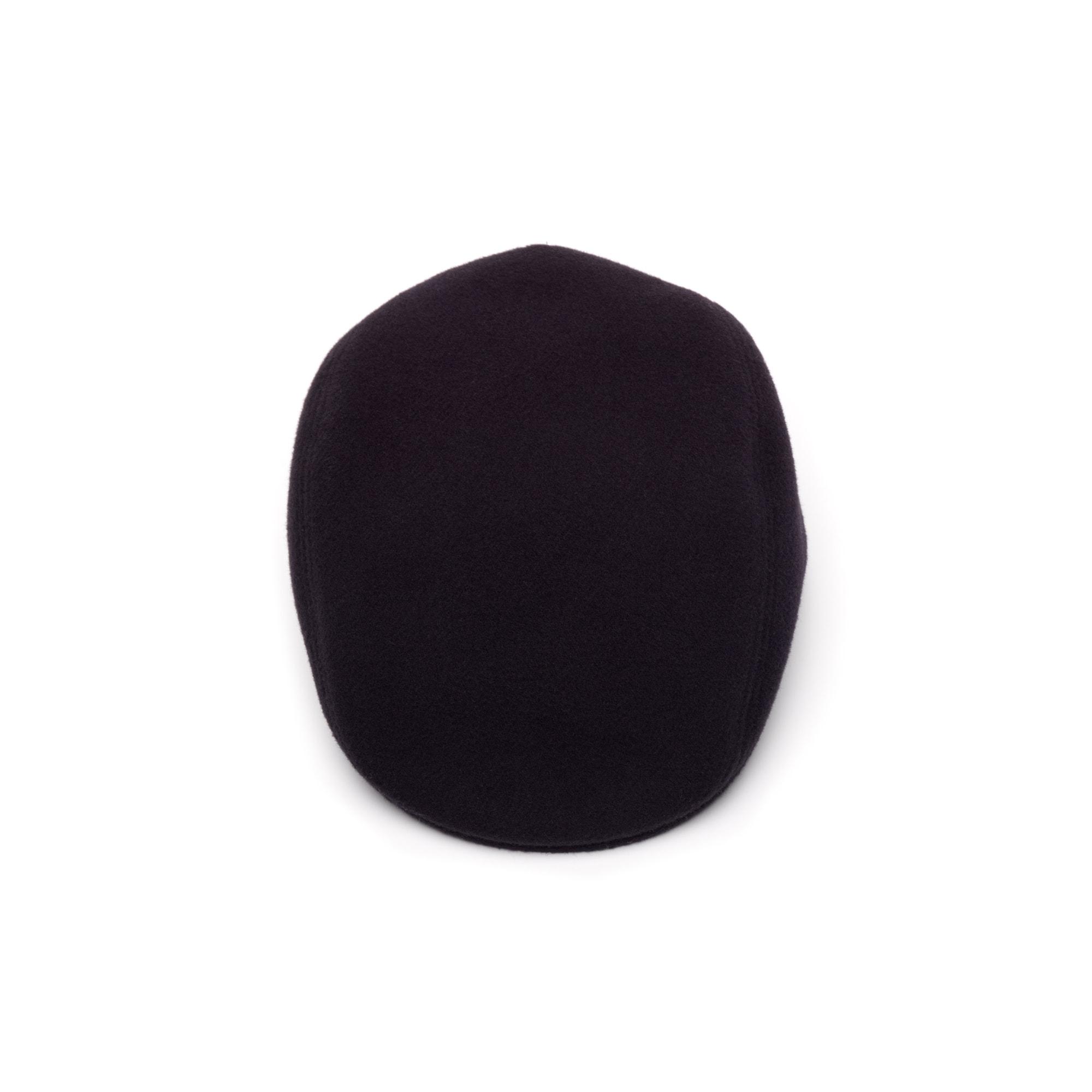 Lacoste - Gorra de hombre plana de paño de lana - 3