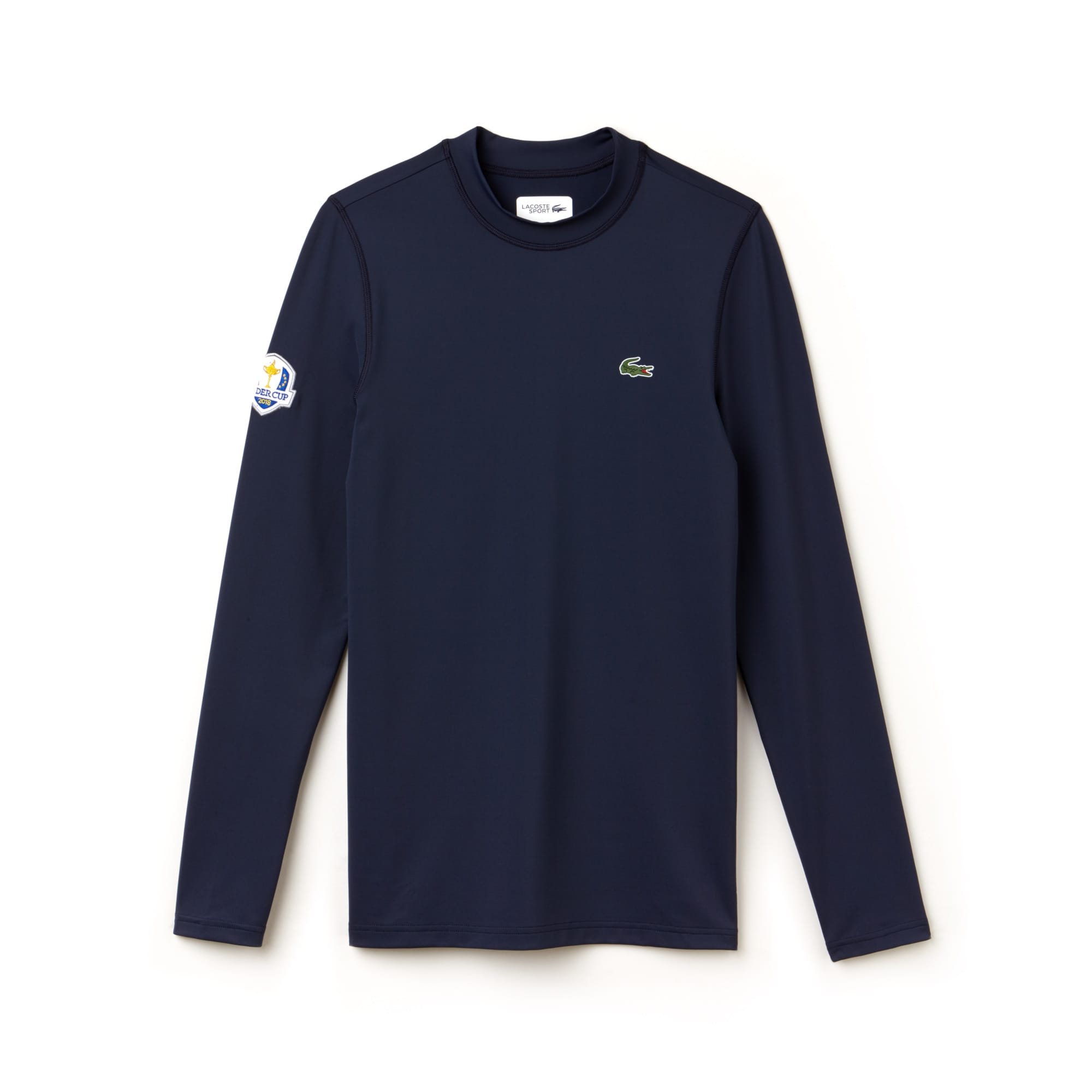 Camiseta Golf Lacoste SPORT de manga larga de punto jersey Edición Ryder Cup