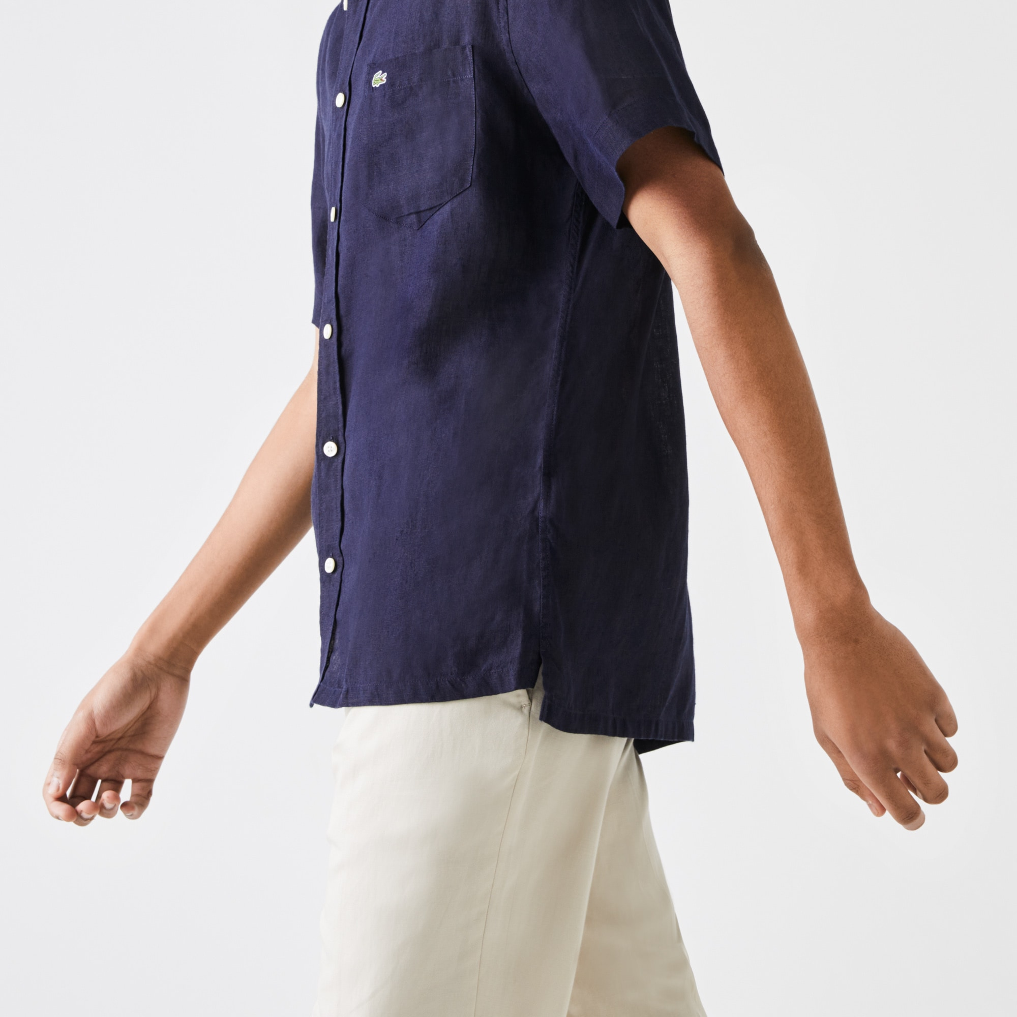 Lacoste - Camisa Lino - 5