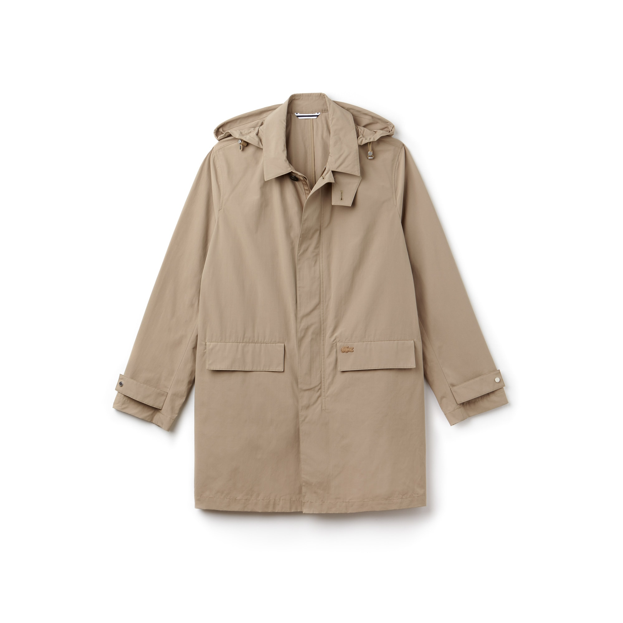 Impermeable Hombre Con Capucha