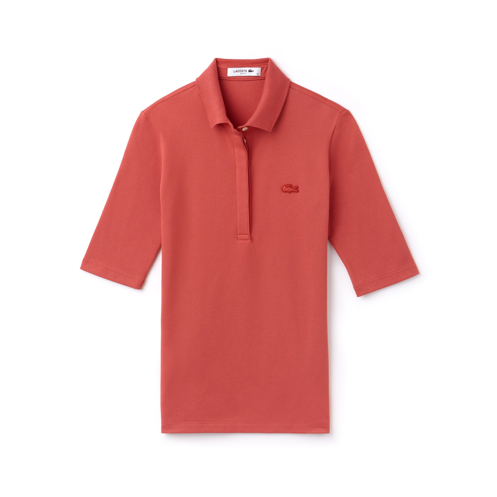 Polo Manga 3/4 Slim Fit