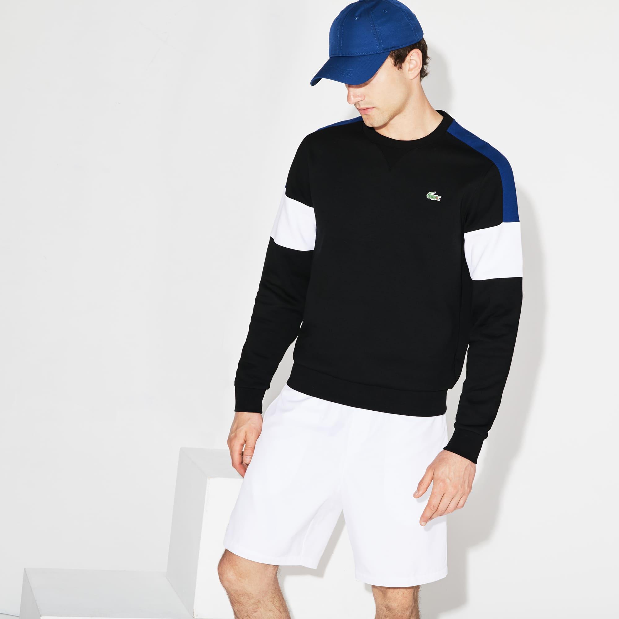Sudadera De Hombre Lacoste SPORT Tennis En Felpa Color Block