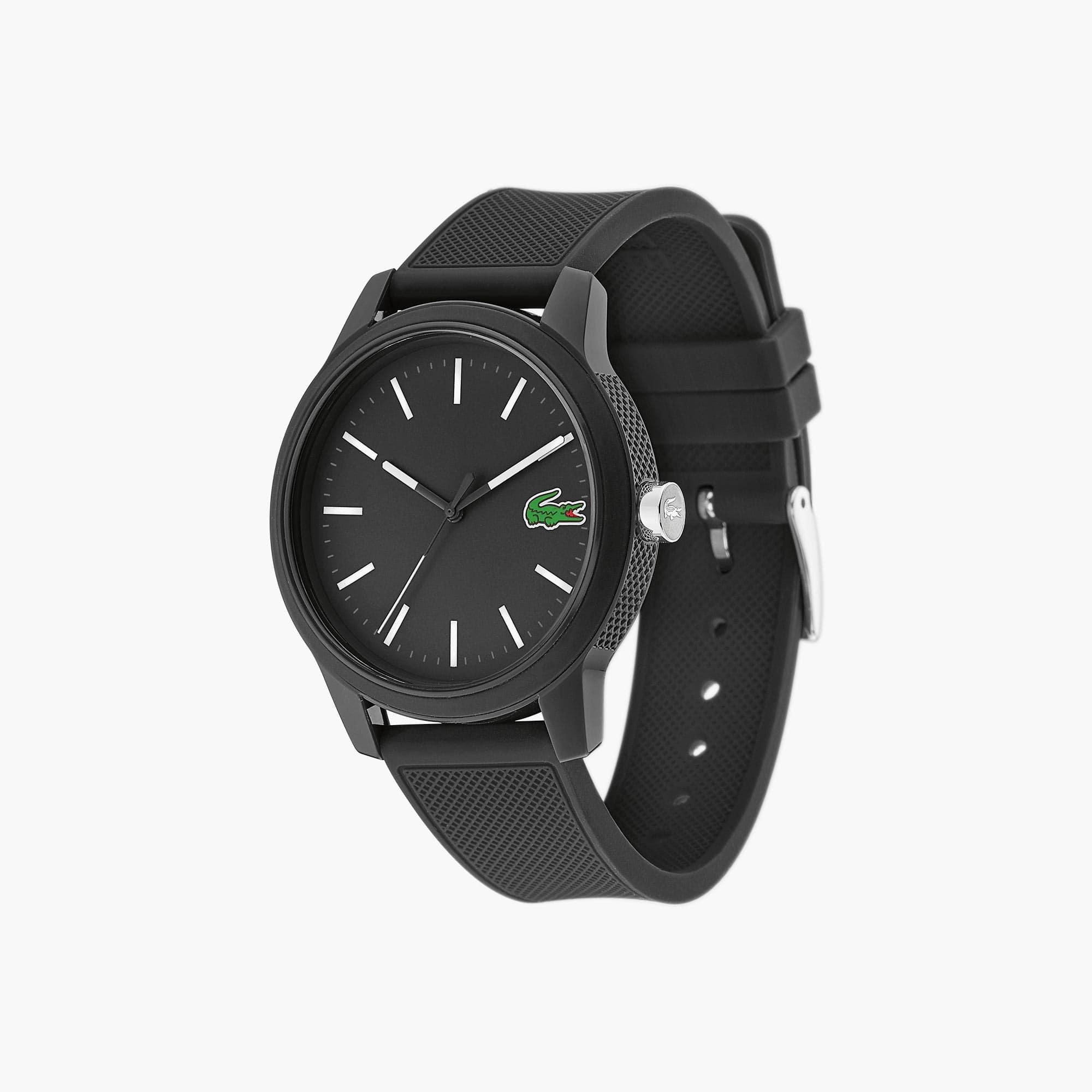 Reloj de Hombre Lacoste 12.12 con Correa de Silicona Negra