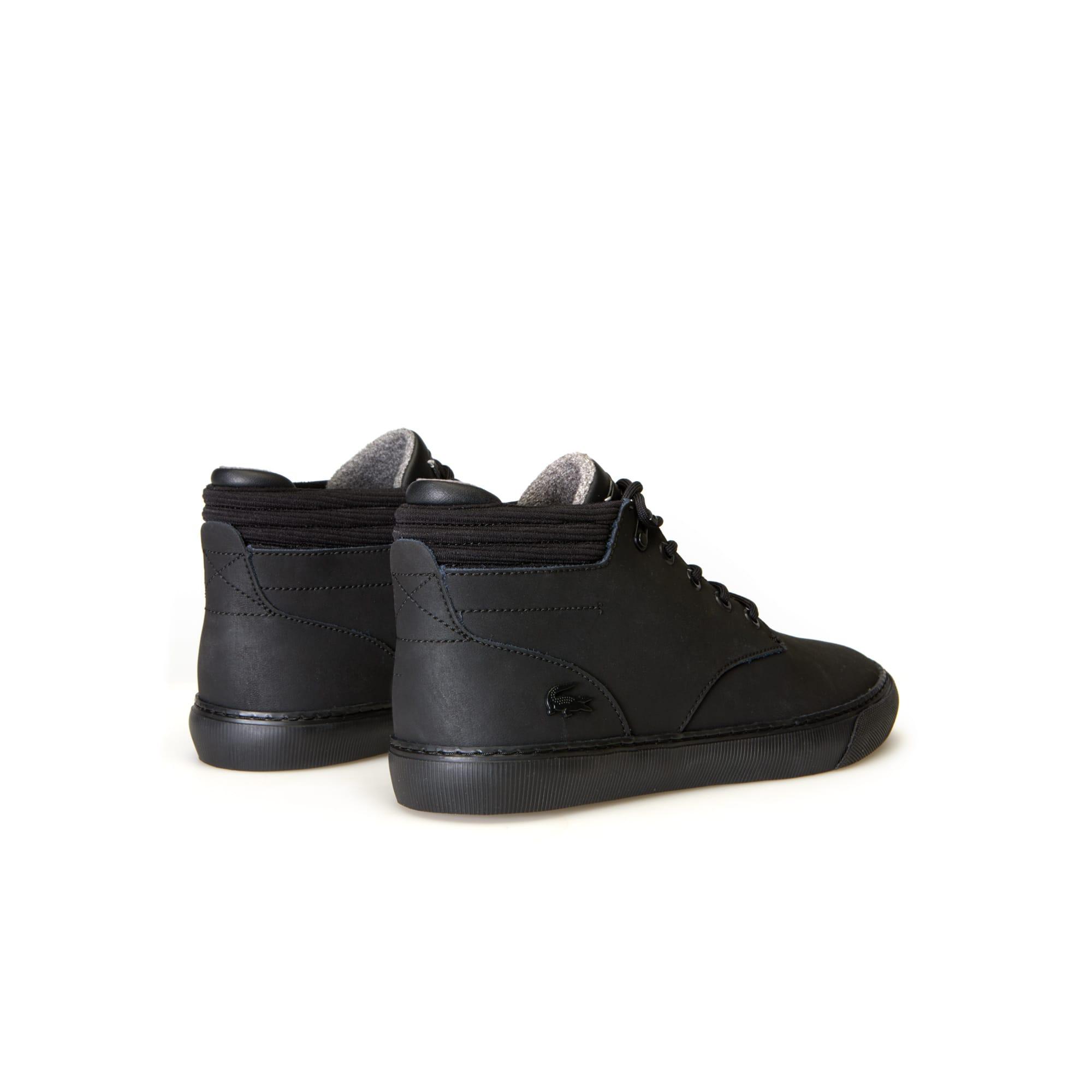 Lacoste - Zapatillas bota de hombre Esparre Winter de piel - 3