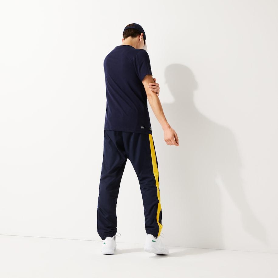 Pantalon De Chandal De Hombre Lacoste Sport Ligero Color Block Lacoste