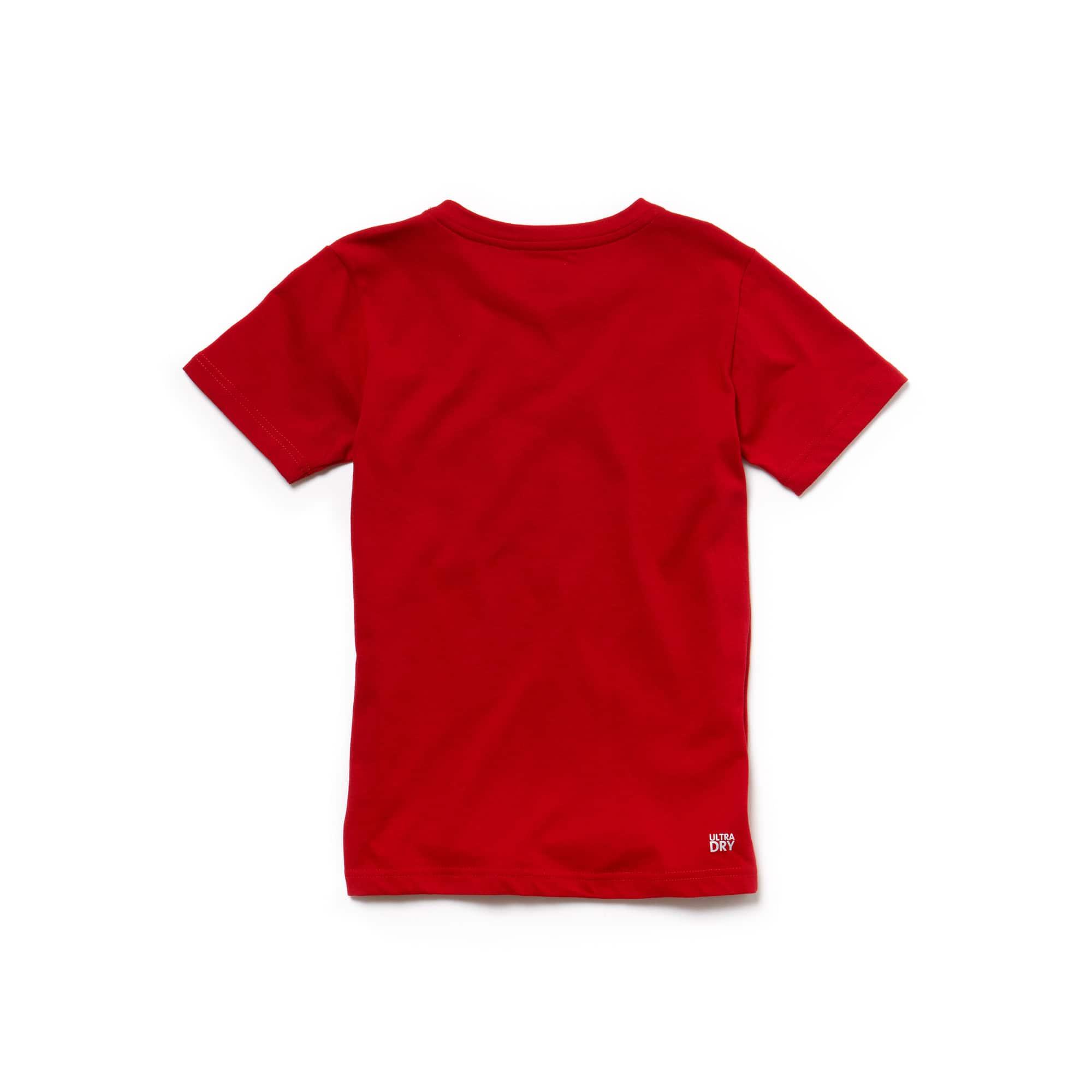 Lacoste - Camiseta De Niño Lacoste SPORT Tennis En Tejido De Punto Técnico Con Inscripción Lacoste - 2
