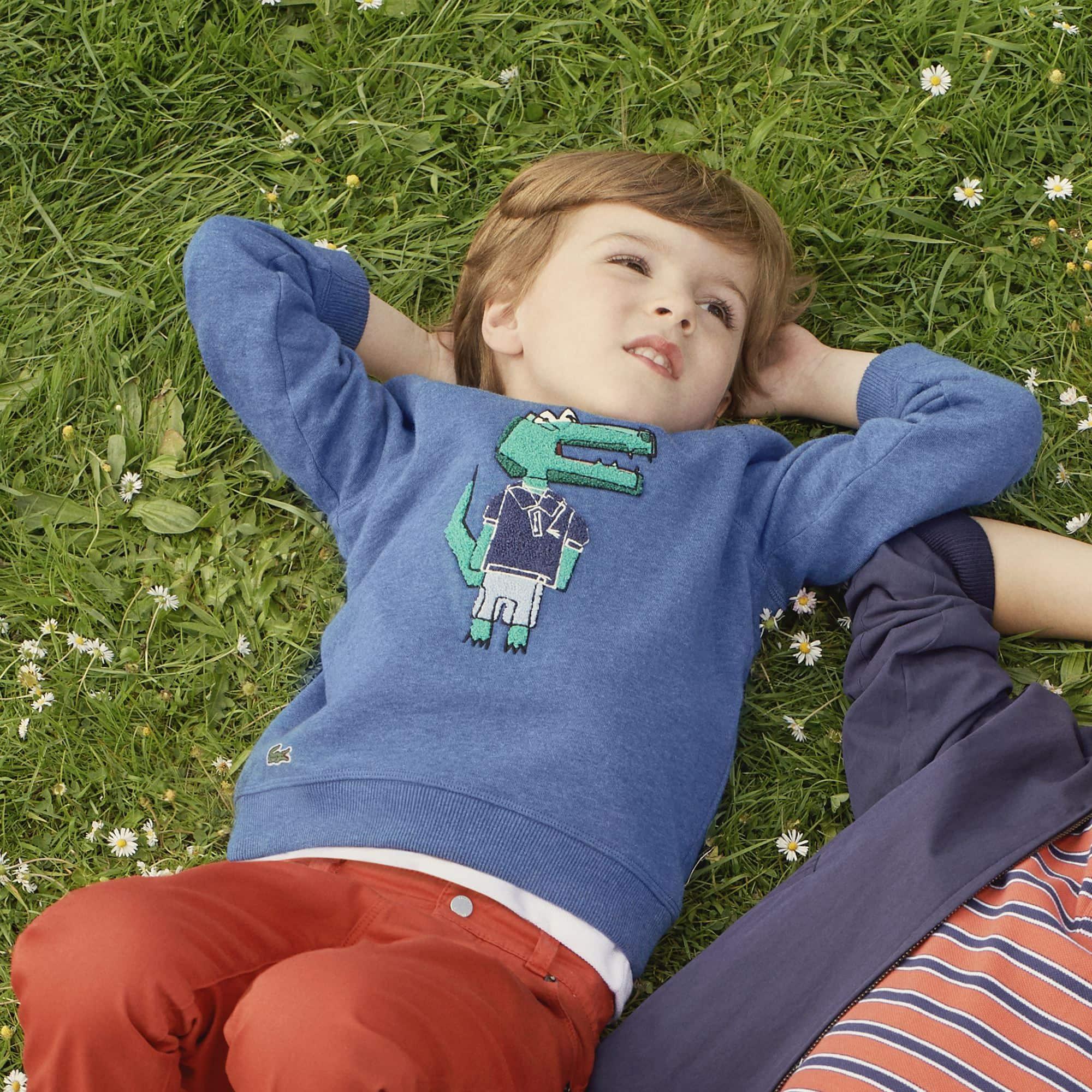 Sudadera Niño Con Cocodrilo