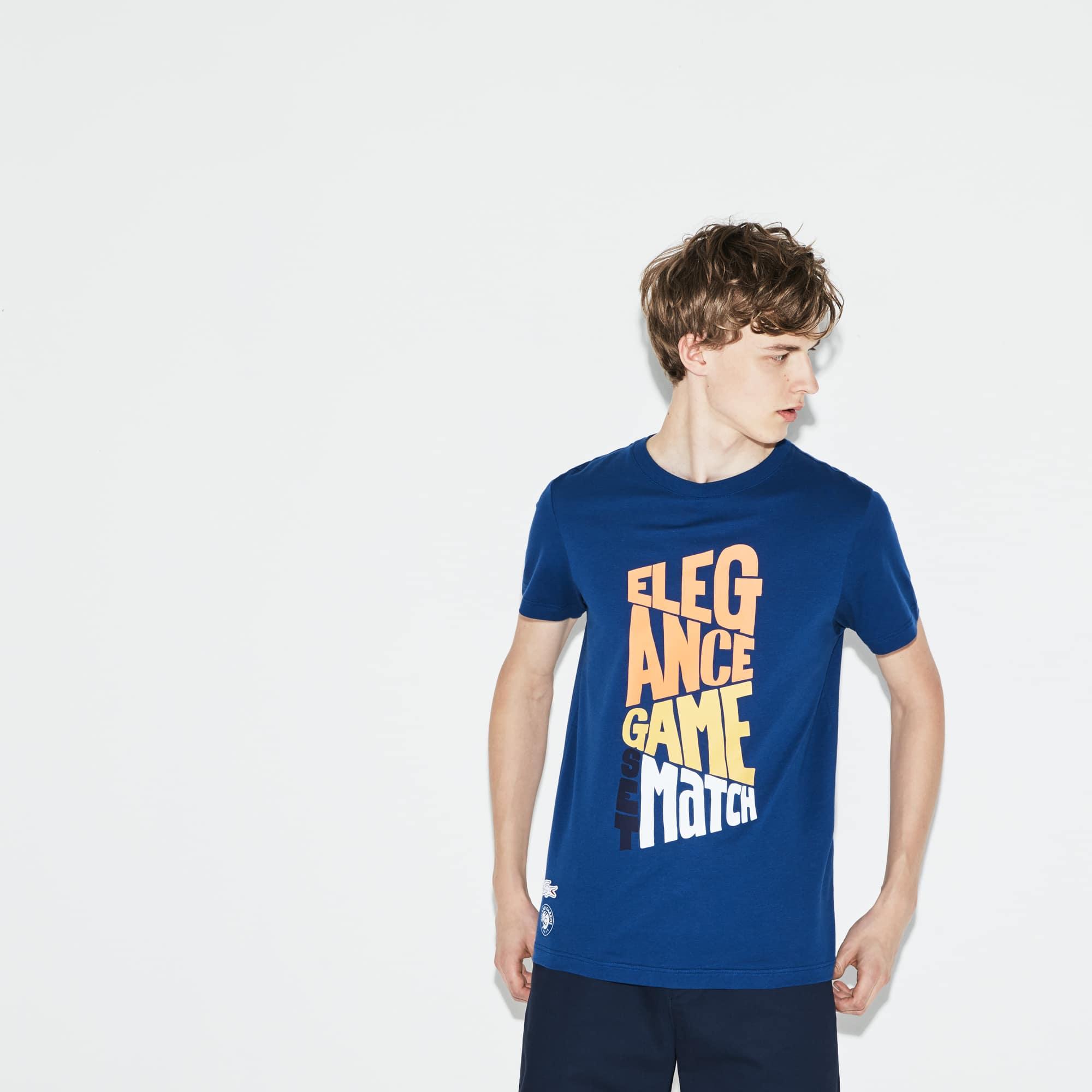 Camiseta Lacoste Sport De Algodón Con Diseño Edición Roland Garros