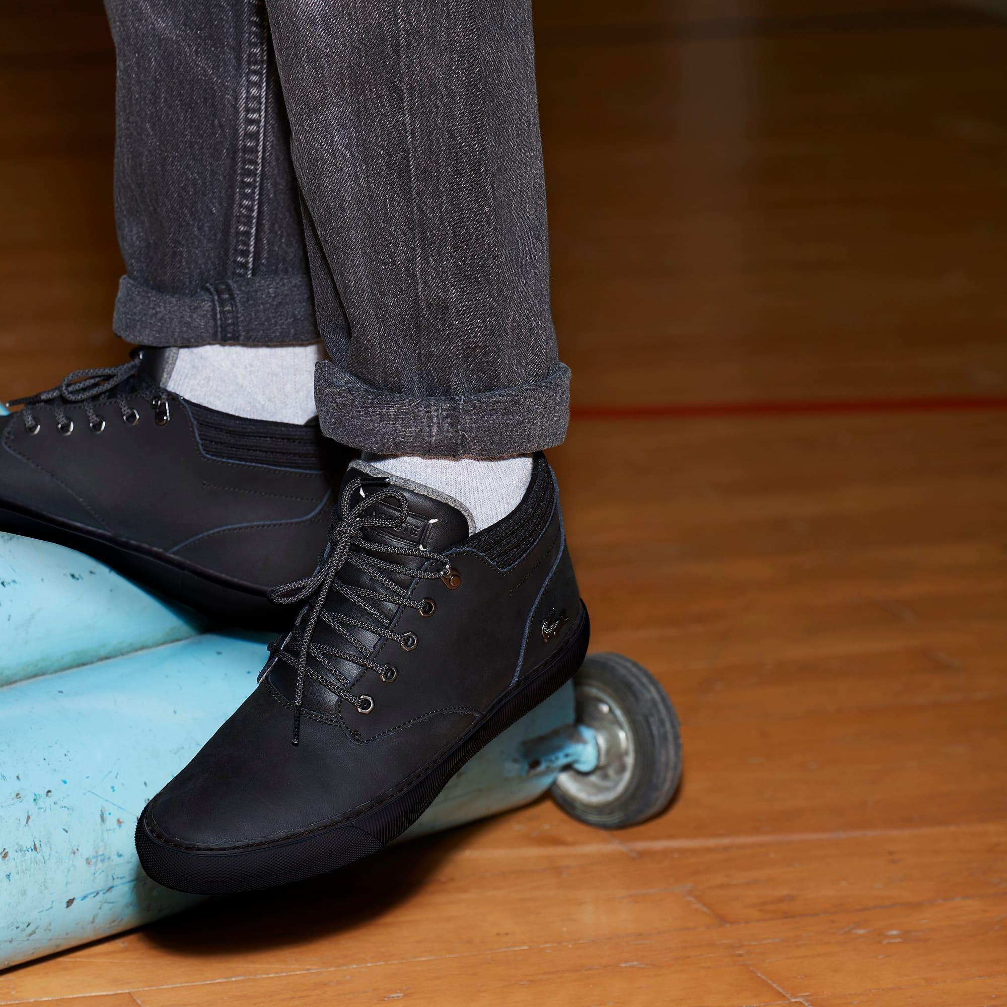Lacoste - Zapatillas bota de hombre Esparre Winter de piel - 7