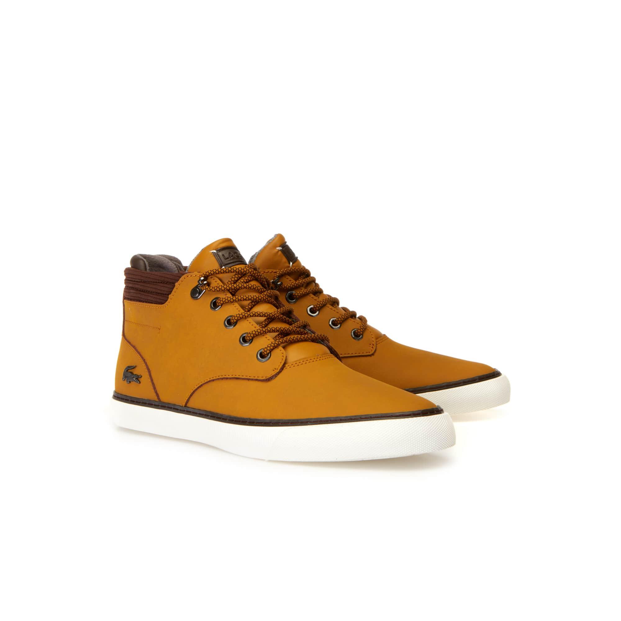 Lacoste - Zapatillas bota de hombre Esparre Winter de piel - 2