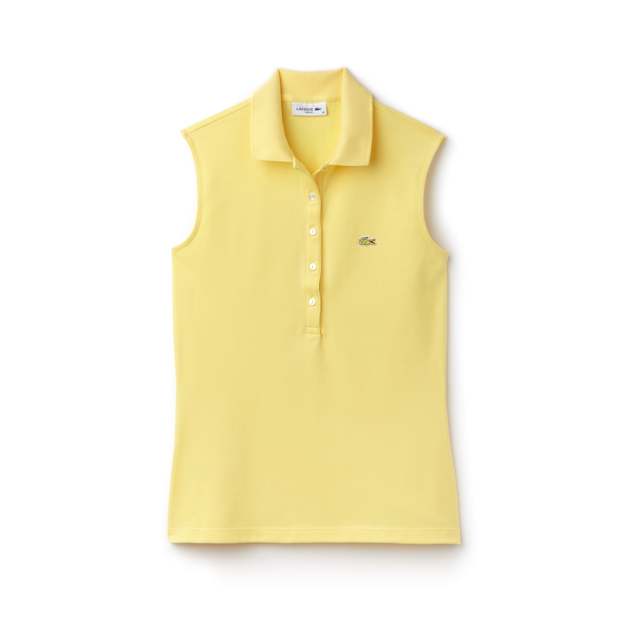 Polo Lacoste Sin Mangas Slim Fit