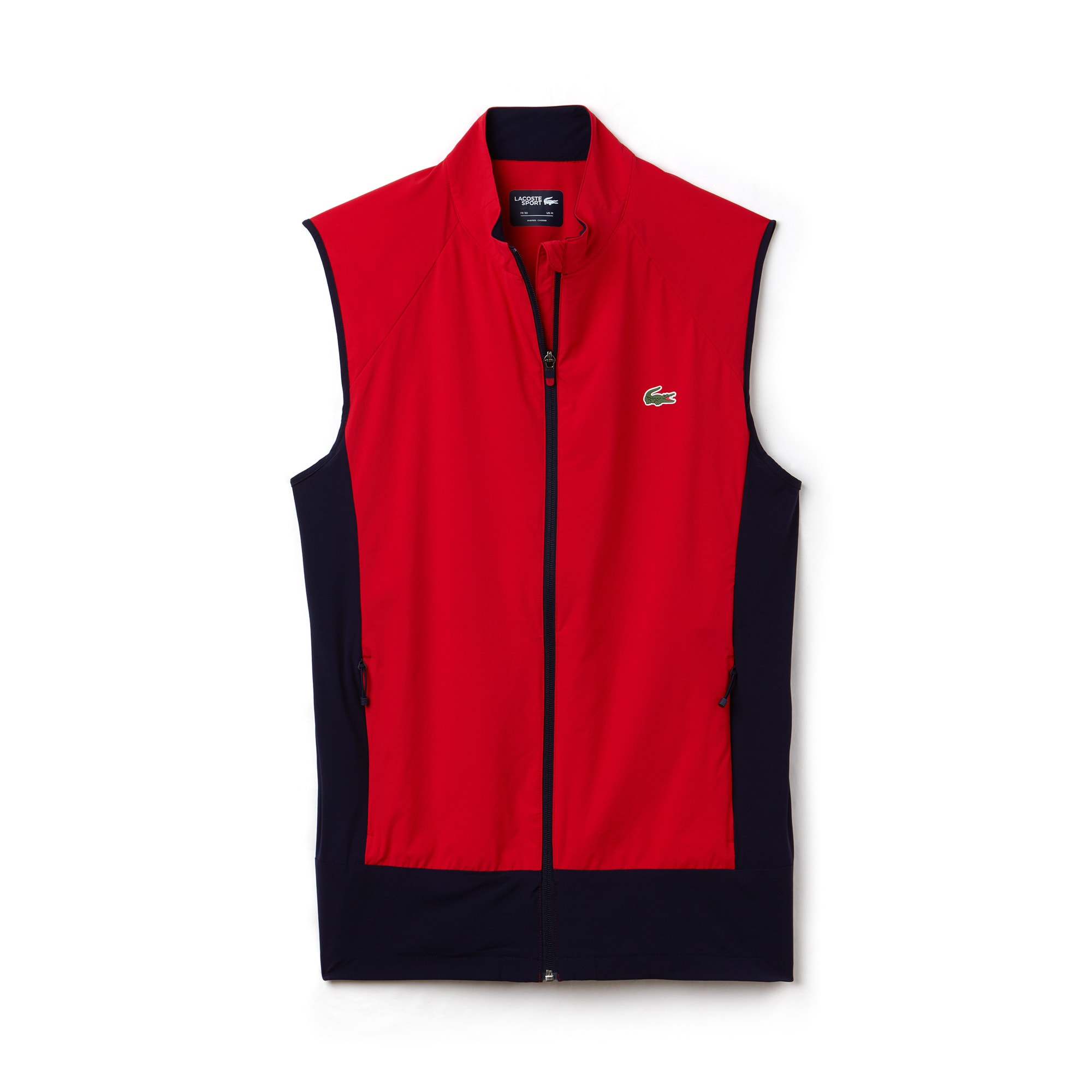Chaleco Acolchado Color Block Golf Lacoste Sport