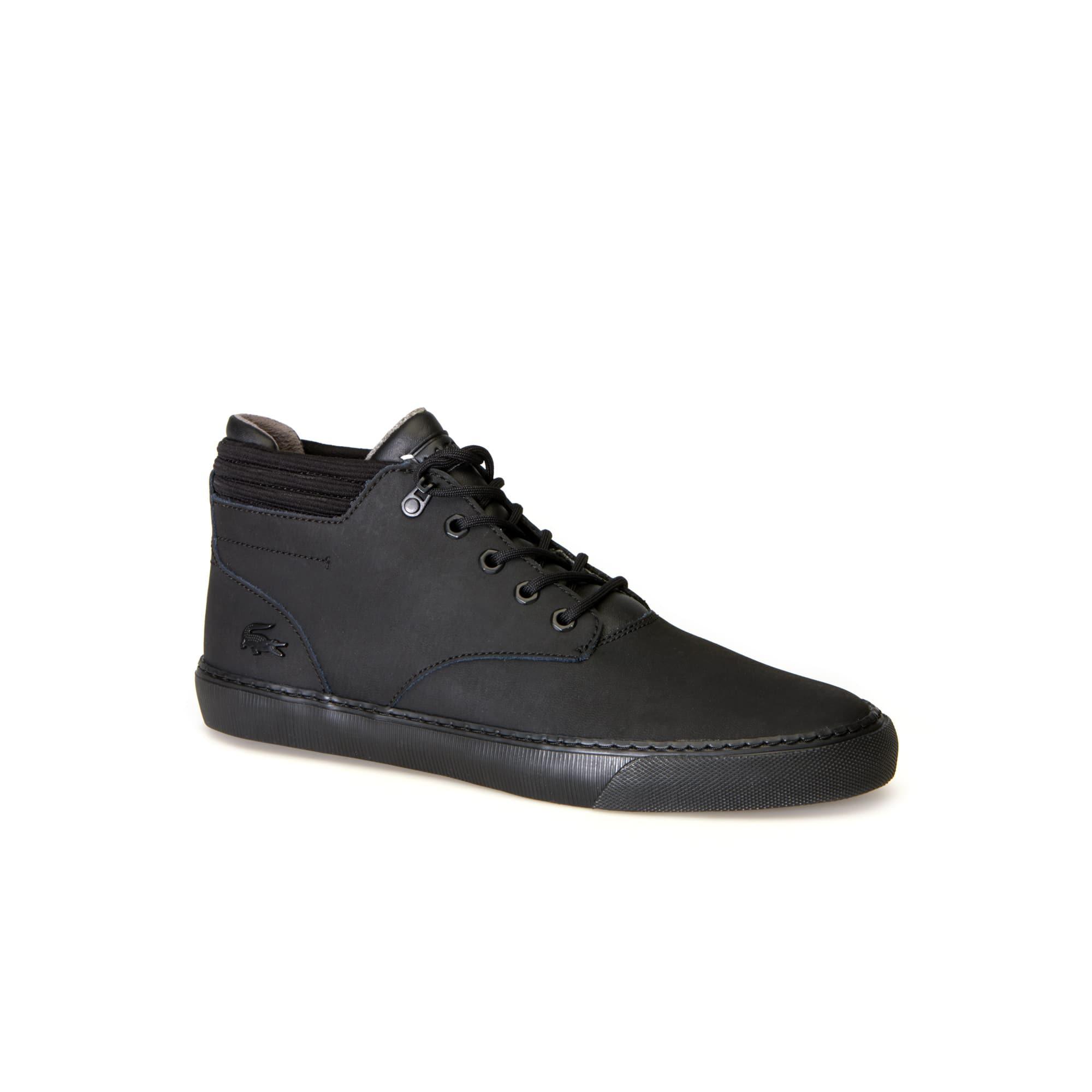 Lacoste - Zapatillas bota de hombre Esparre Winter de piel - 1