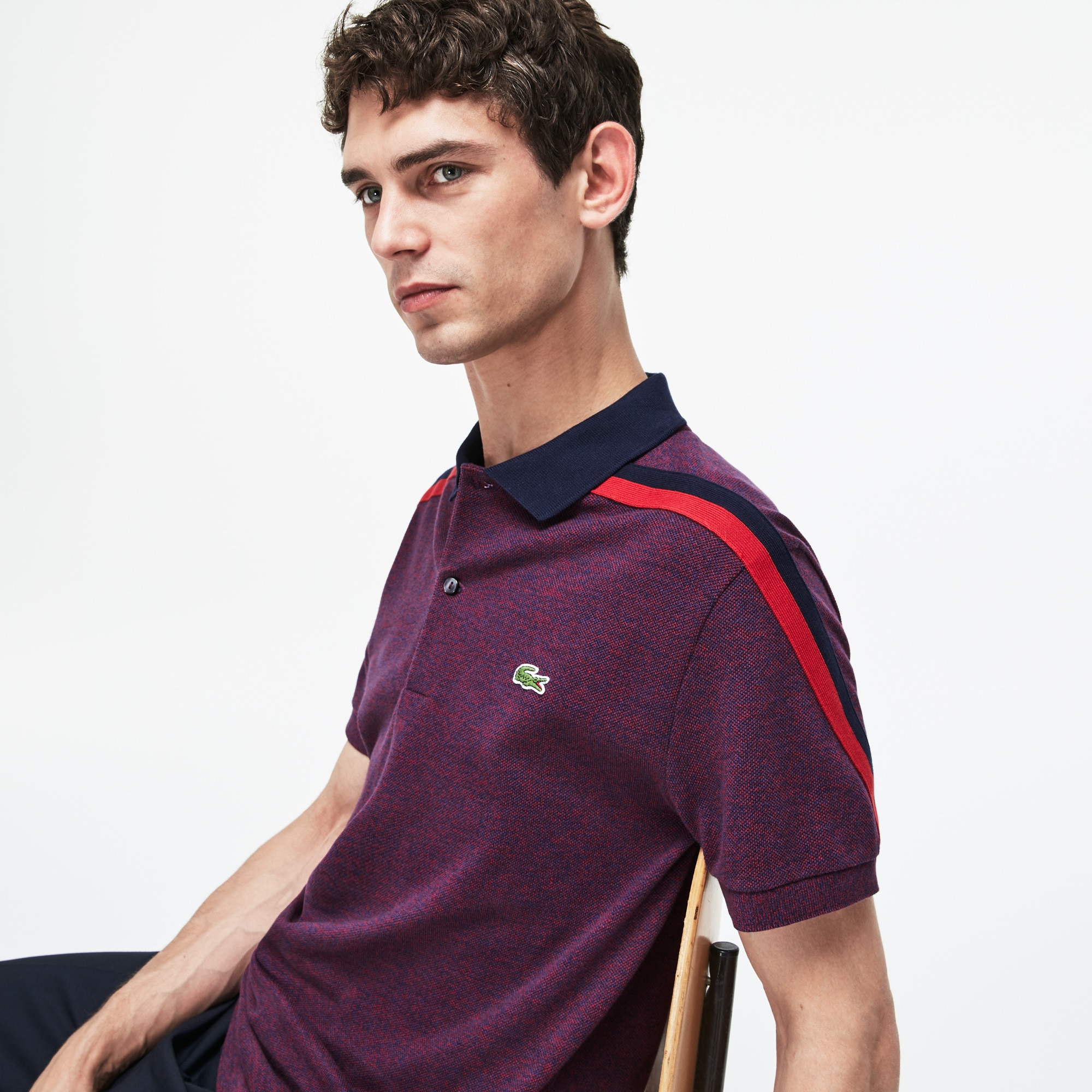 Lacoste - Polo De Hombre Lacoste Made In France Regular Fit En Piqué De Algodón - 5