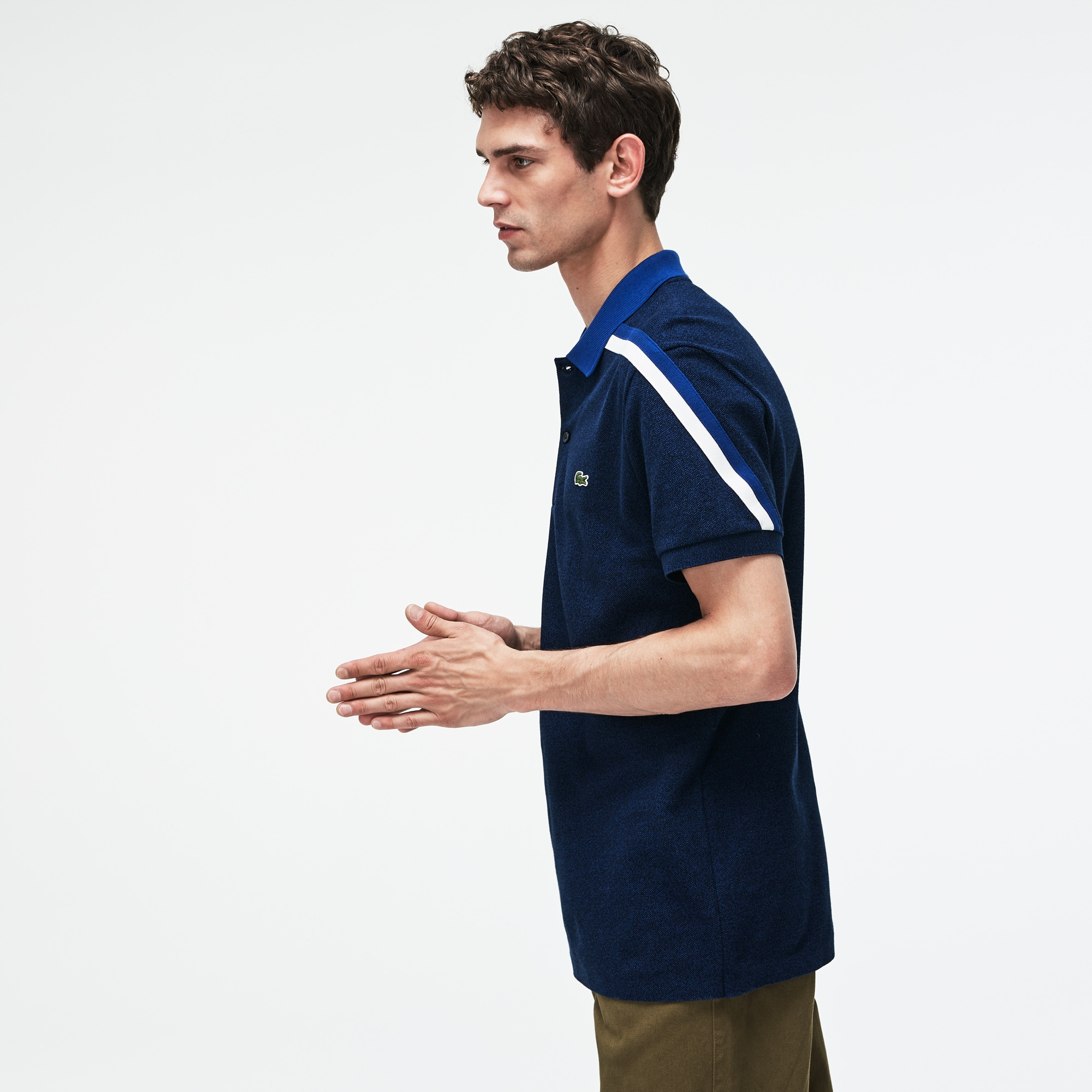 Lacoste - Polo De Hombre Lacoste Made In France Regular Fit En Piqué De Algodón - 2