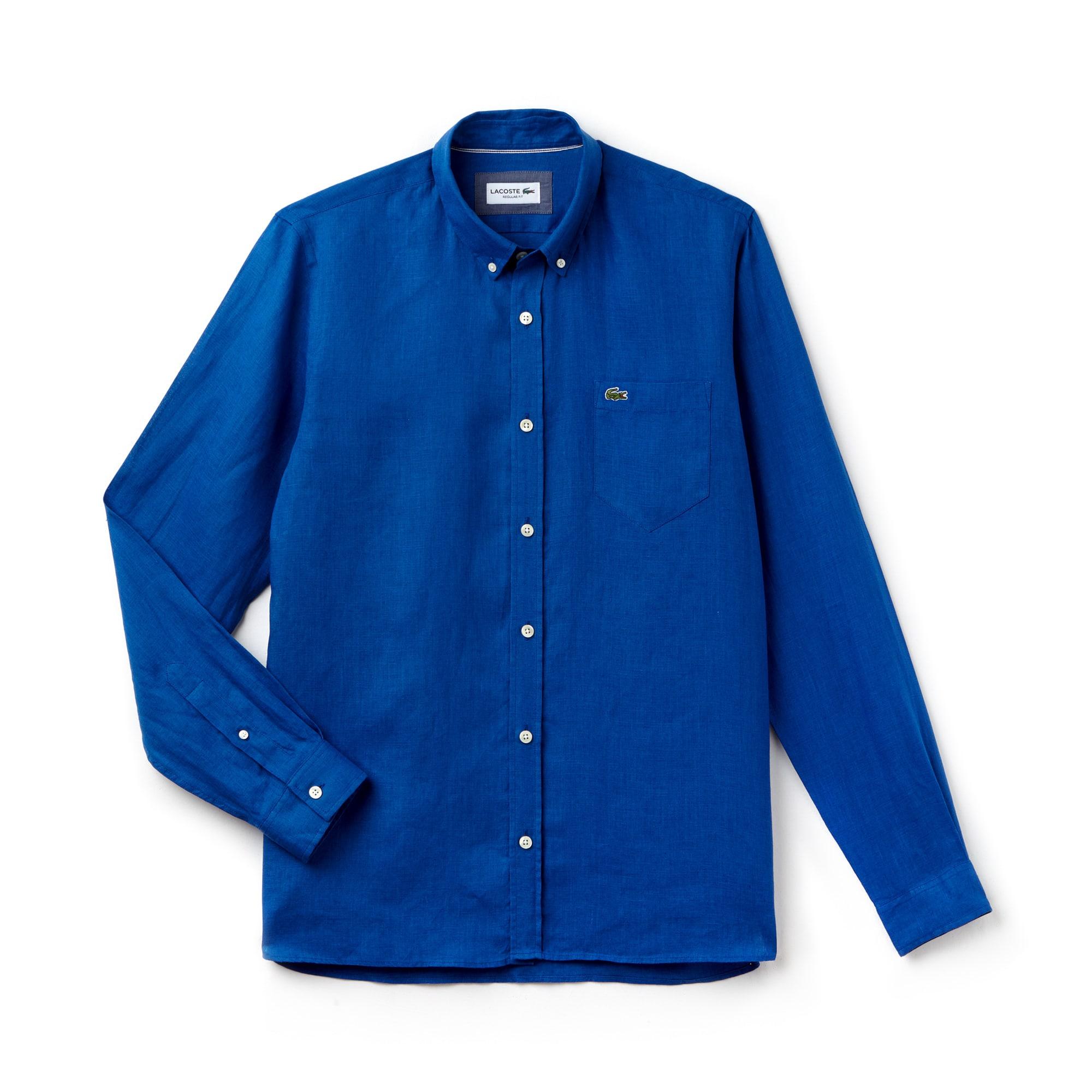 Camisa Hombre De Lino