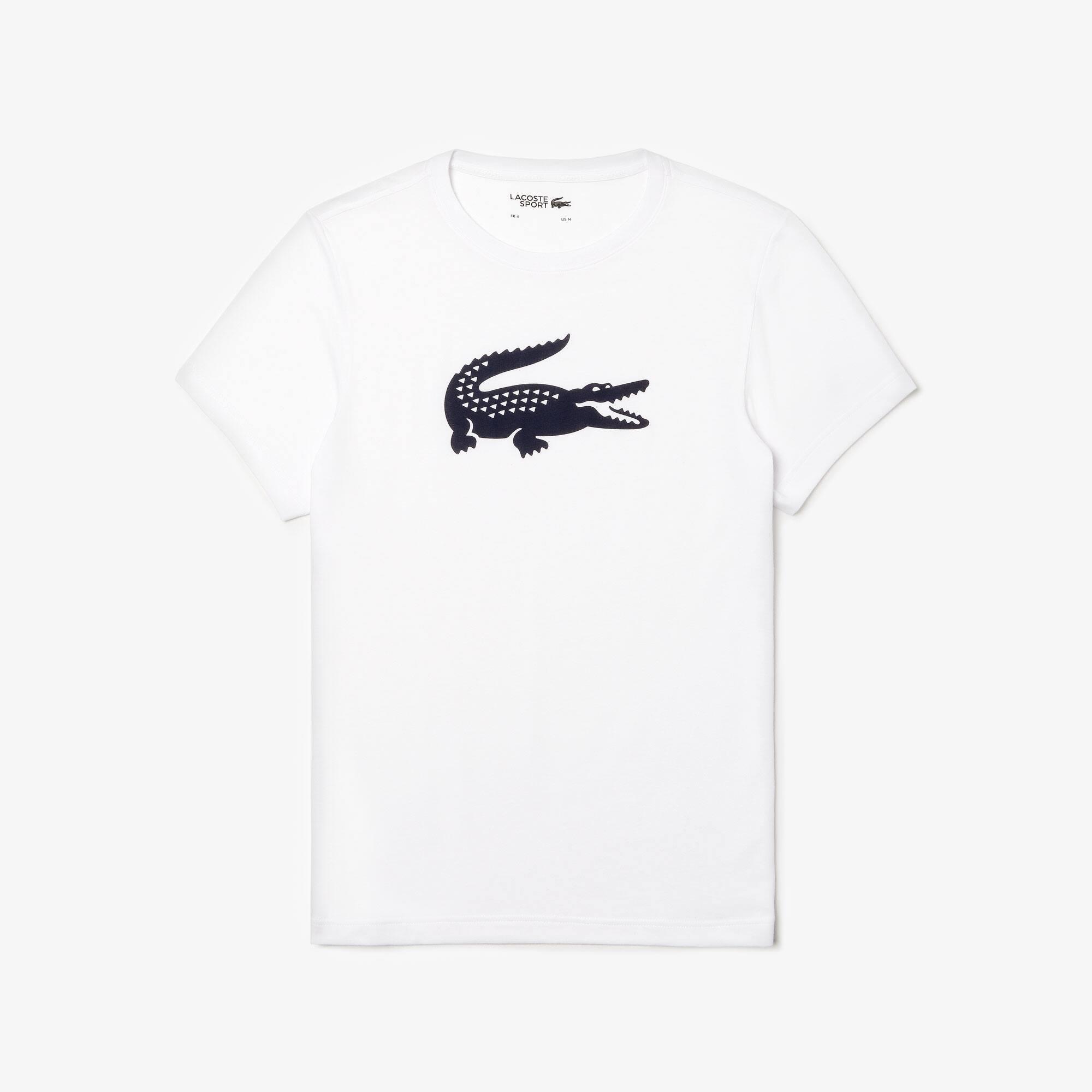 Lacoste - Camiseta Tenis Lacoste SPORT De Punto Técnico Con Cocodrilo Oversized - 3