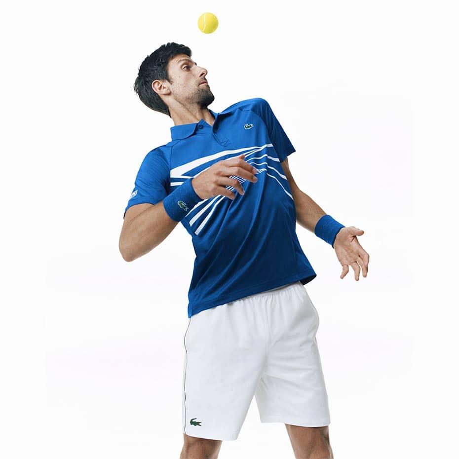 0d6f2e6c116 Collection Lacoste x Novak Djokovic