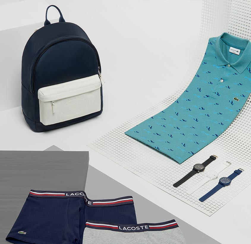e4f4f62409 Polos, chaussures et maroquinerie - LACOSTE