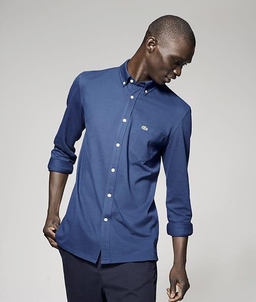 d921dc88f550d Toutes les chemises Lacoste Homme de la saison sont ici.