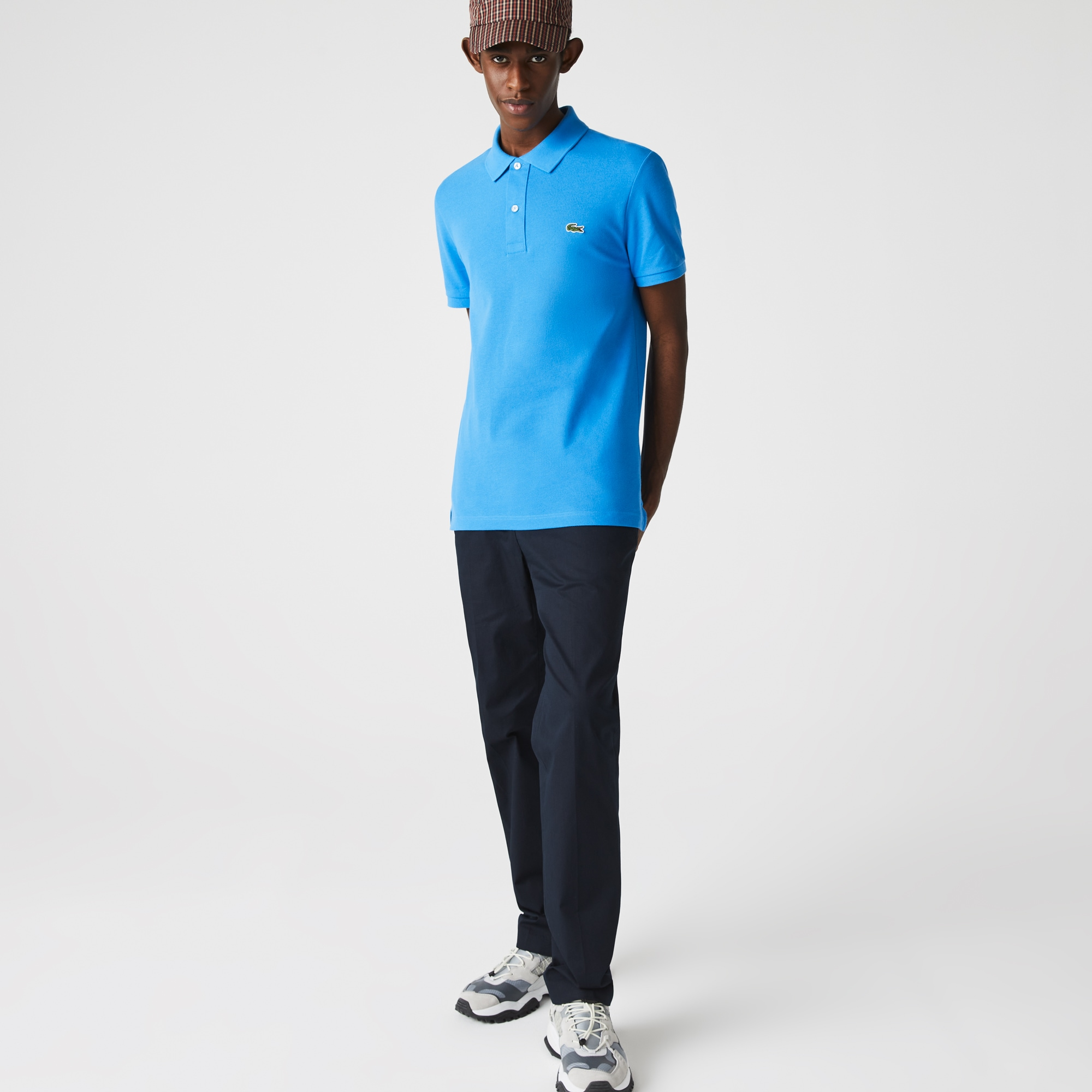 05b946946a Robe polo en mini piqué de coton stretch uni. 145,00 €. + 40 couleurs