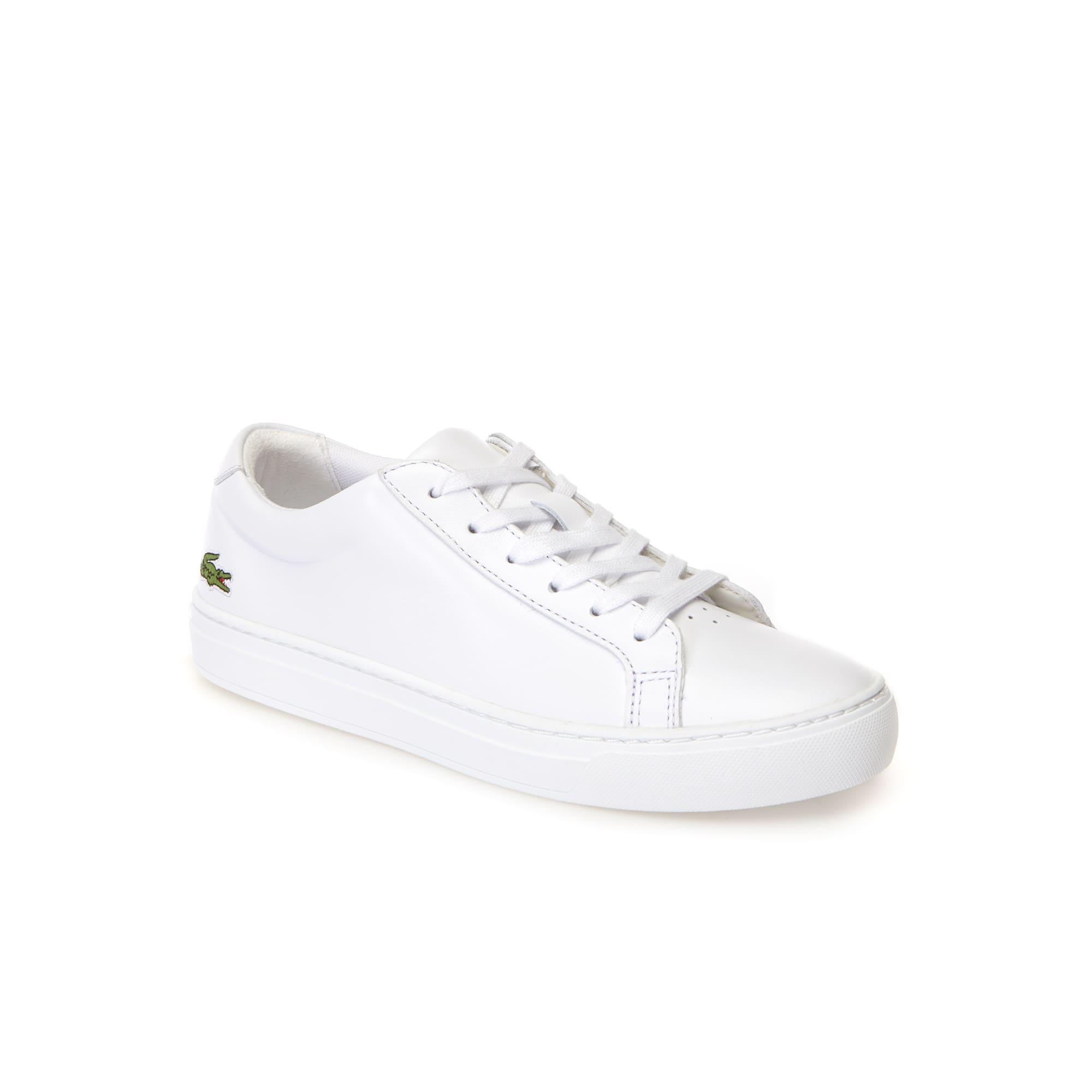 Sneakers L.12.12 en cuir nappa premium