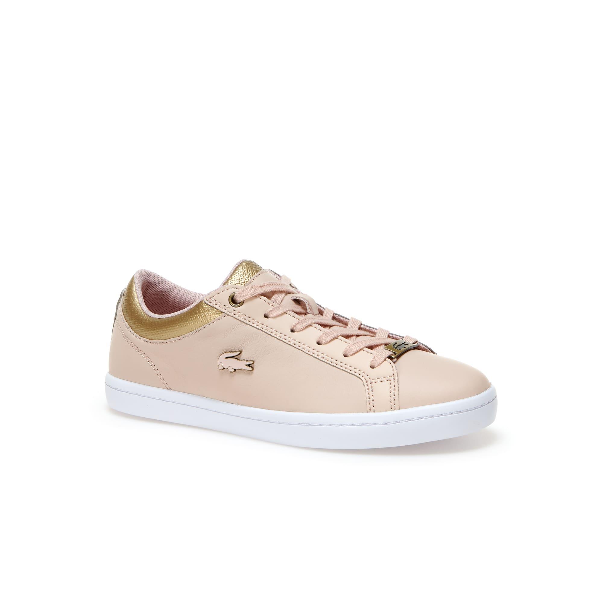 Sneakers Straightset en cuir froissé