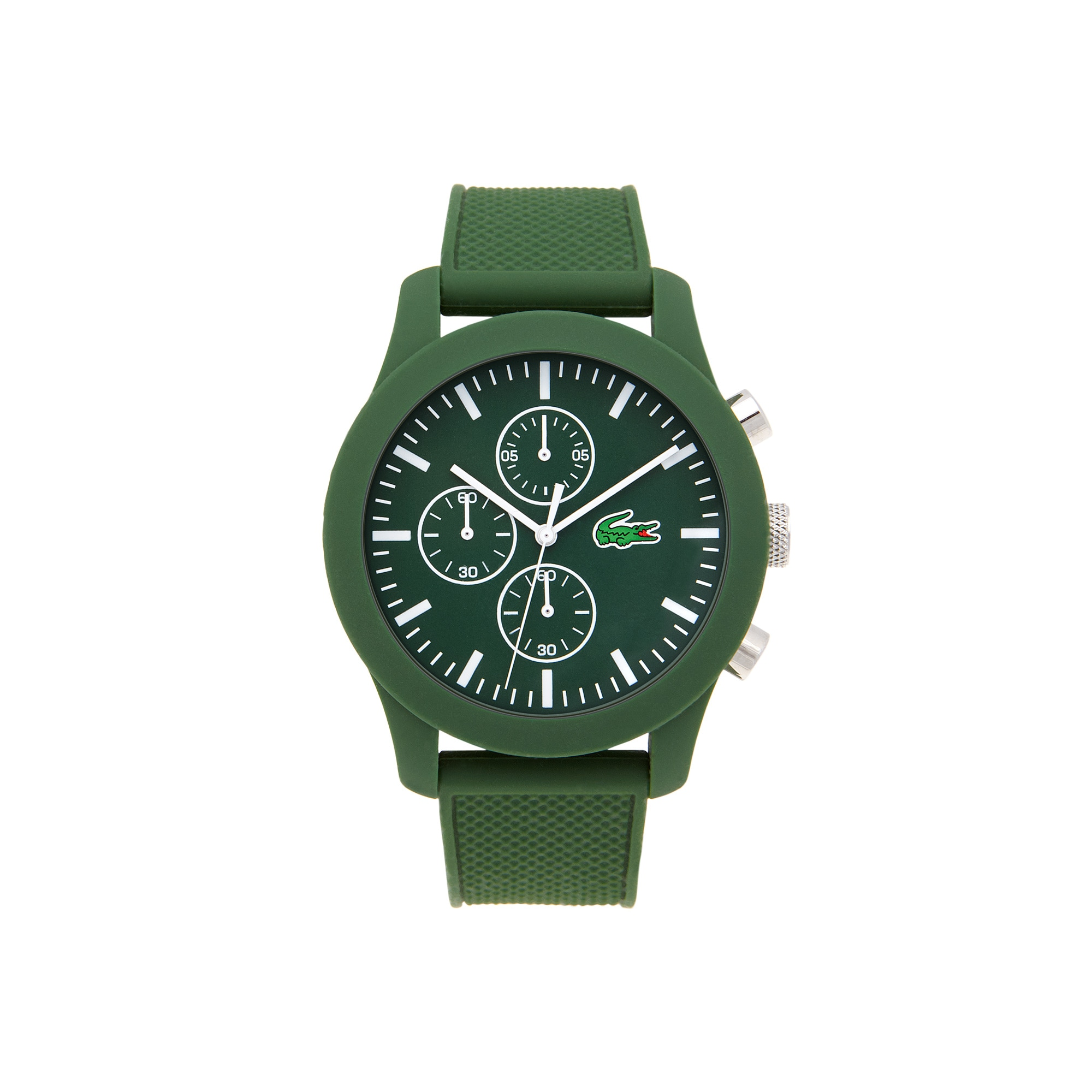 Montre Lacoste 12.12 Homme avec Bracelet en Silicone Vert