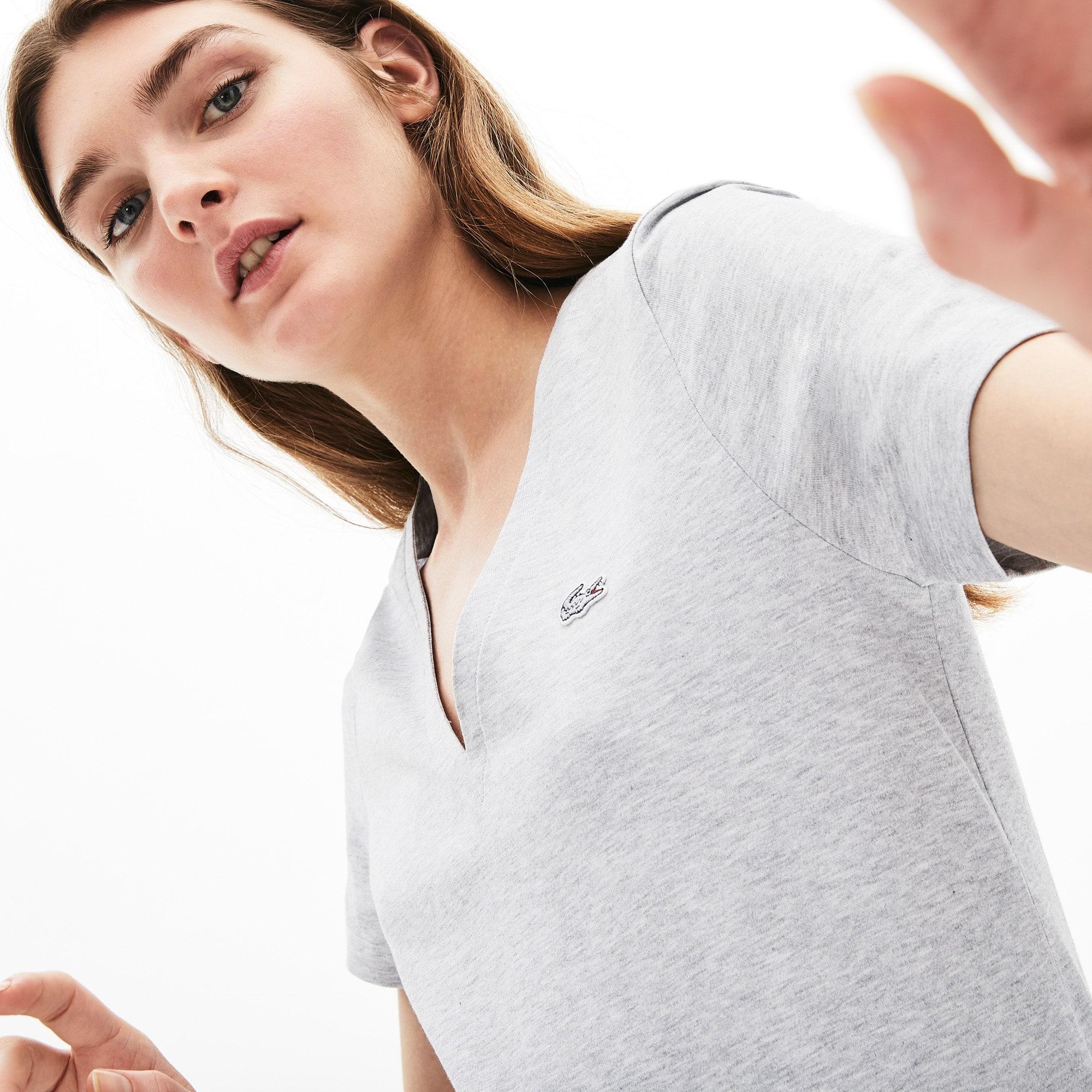1c7997438d5 + 7 couleurs. Nouveauté. T-shirt col V slim fit ...