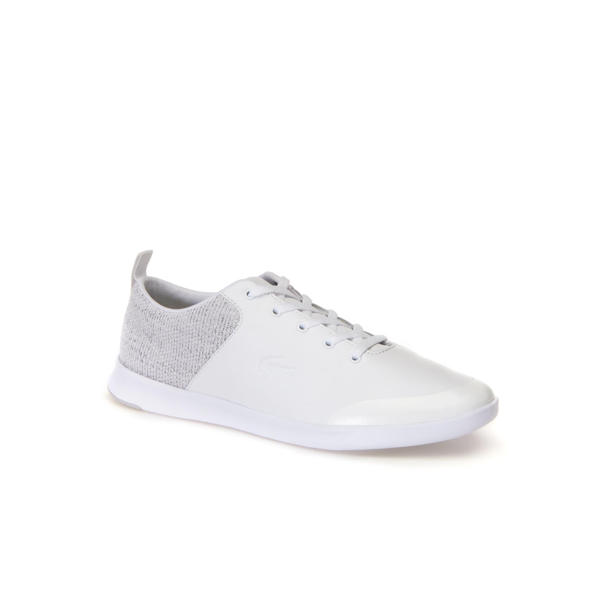 Sneakers Avenir lacées femme en cuir