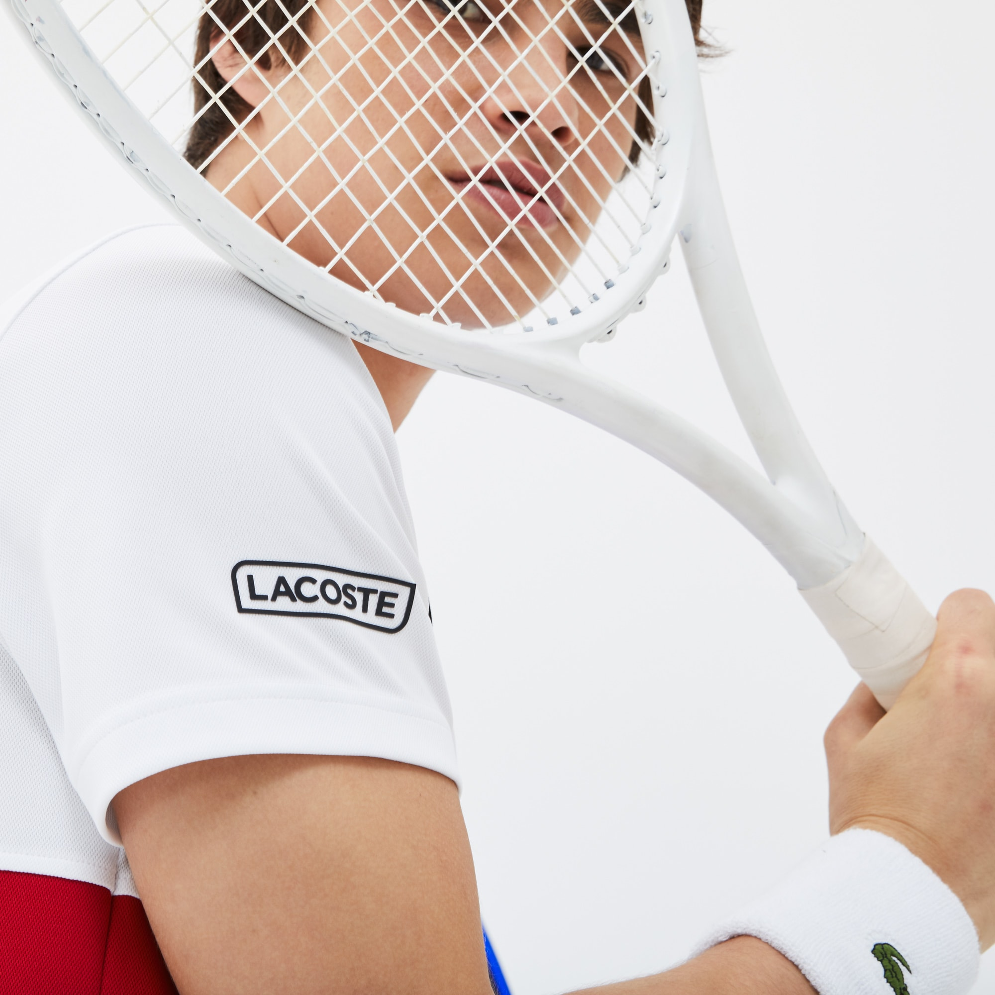 Polo LACOSTE SPORT COLLECTION NOVAK DJOKOVIC en piqué technique