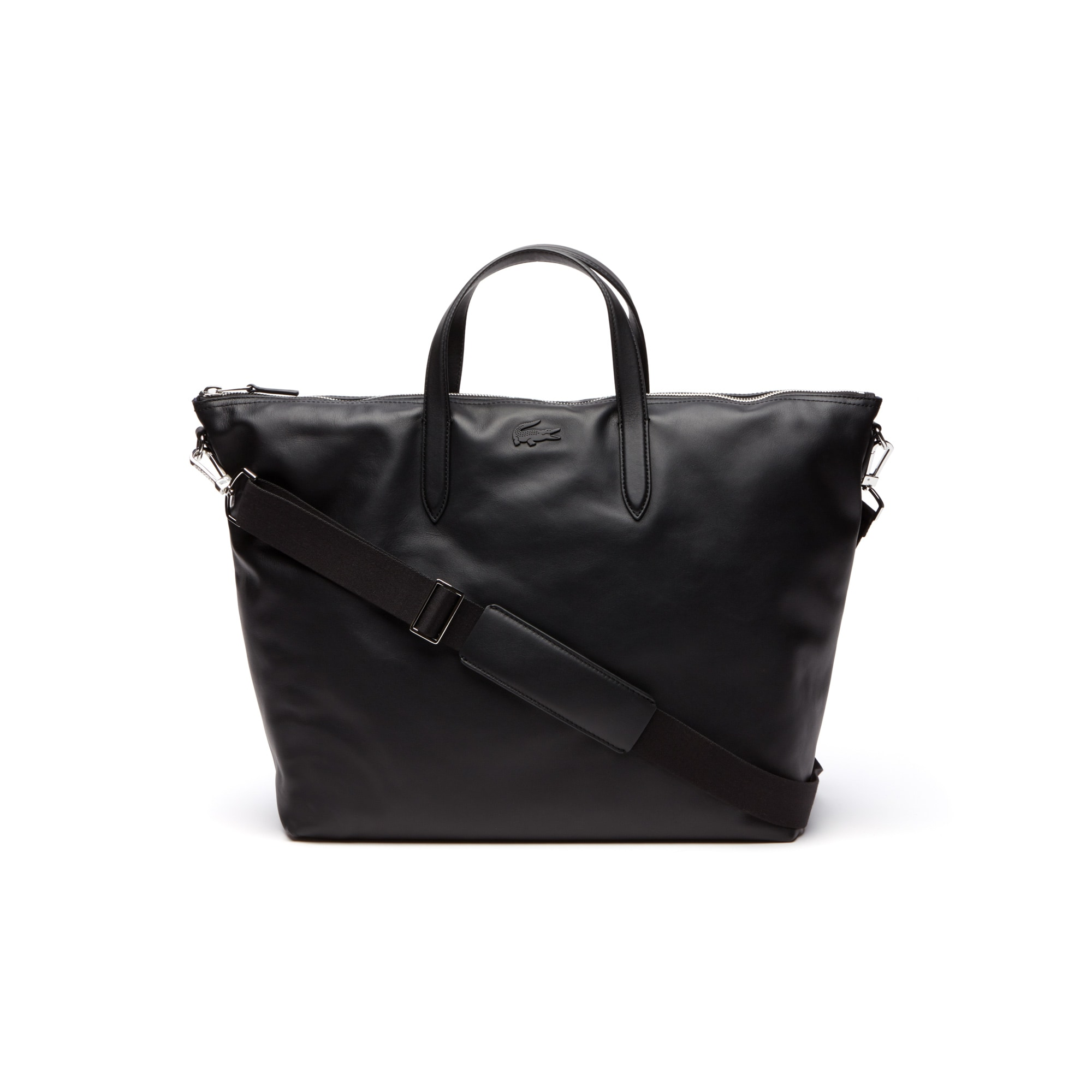 Grand sac cabas zippé L.12.12 cuir Business