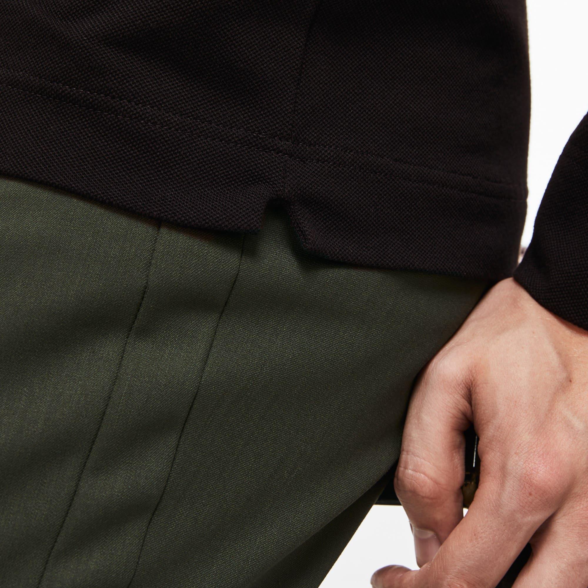 Lacoste - Paris Polo Regular Fit Lacoste à manches longues en piqué de coton stretch - 6