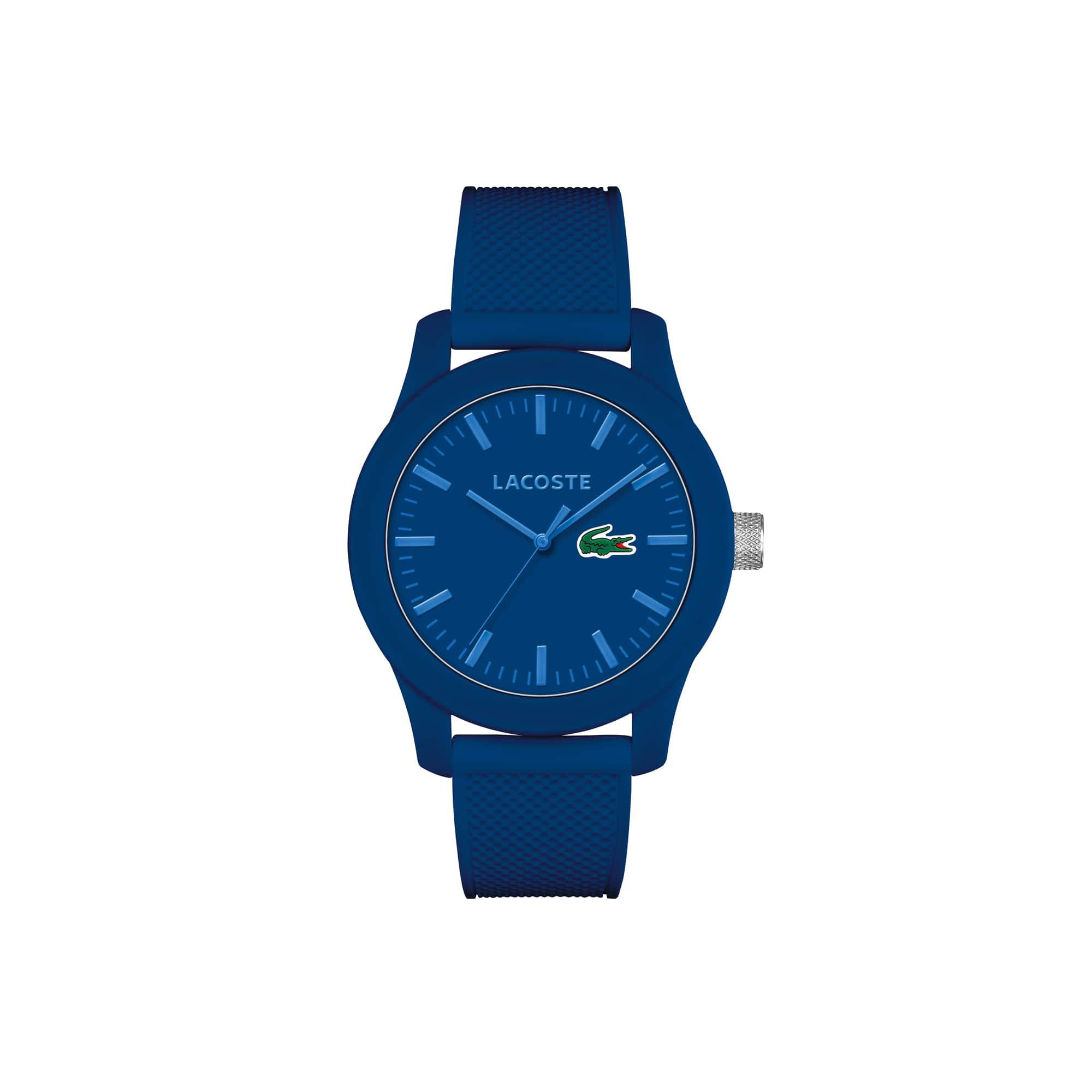 Montre Lacoste.12.12 Homme avec Bracelet en Silicone Bleu