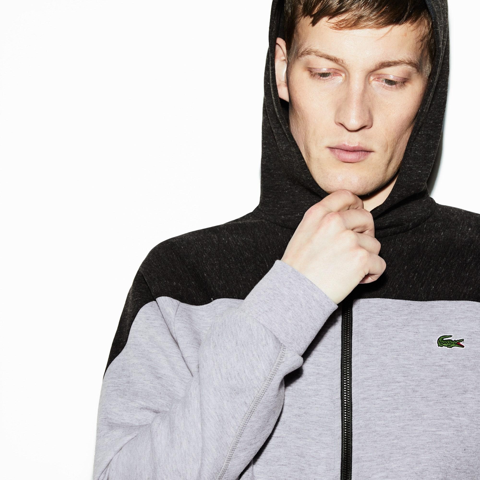 098961b9fb + 1 couleur · Sweatshirt zippé à capuche Lacoste SPORT ...