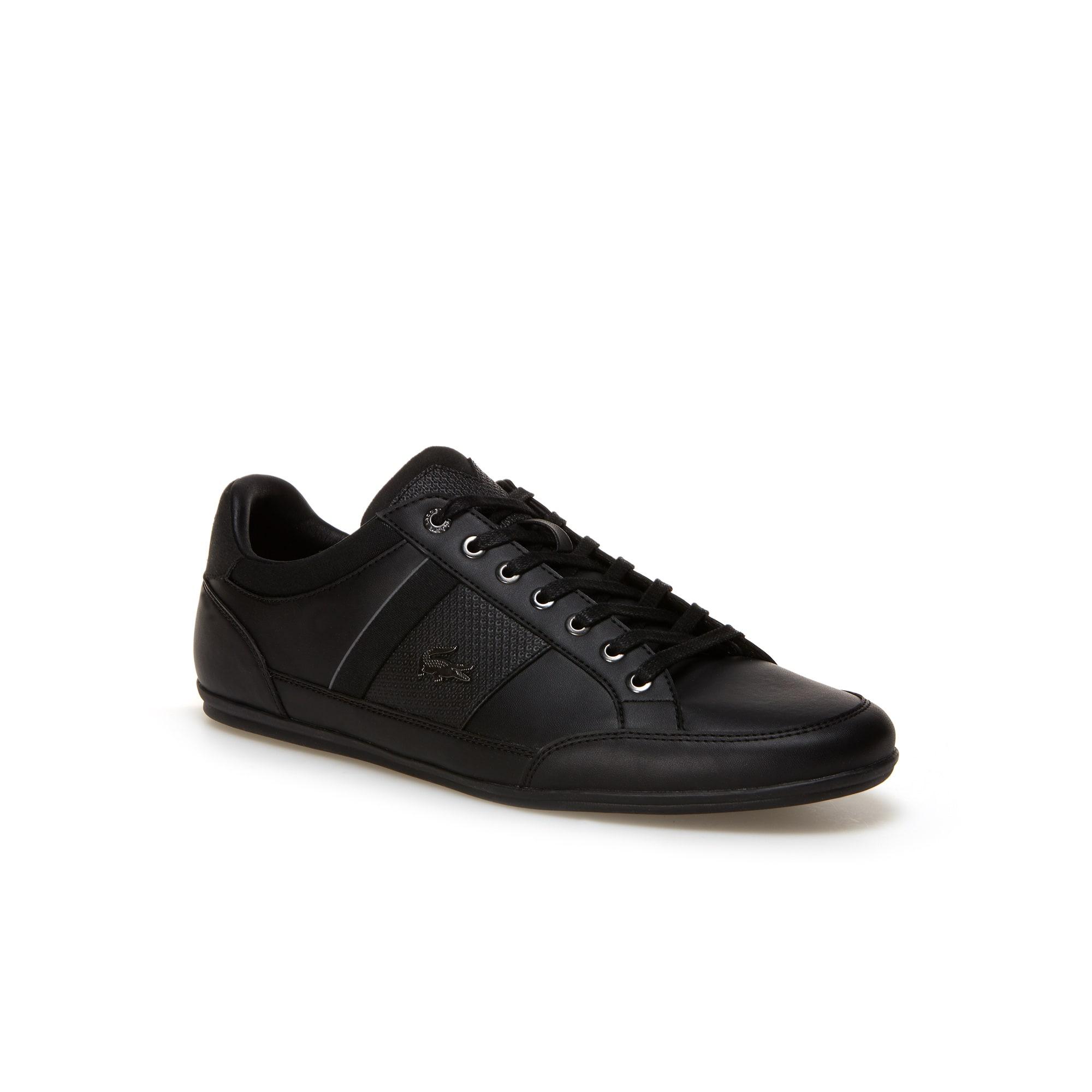 Sneakers Chaymon en cuir nappa suédé et textile