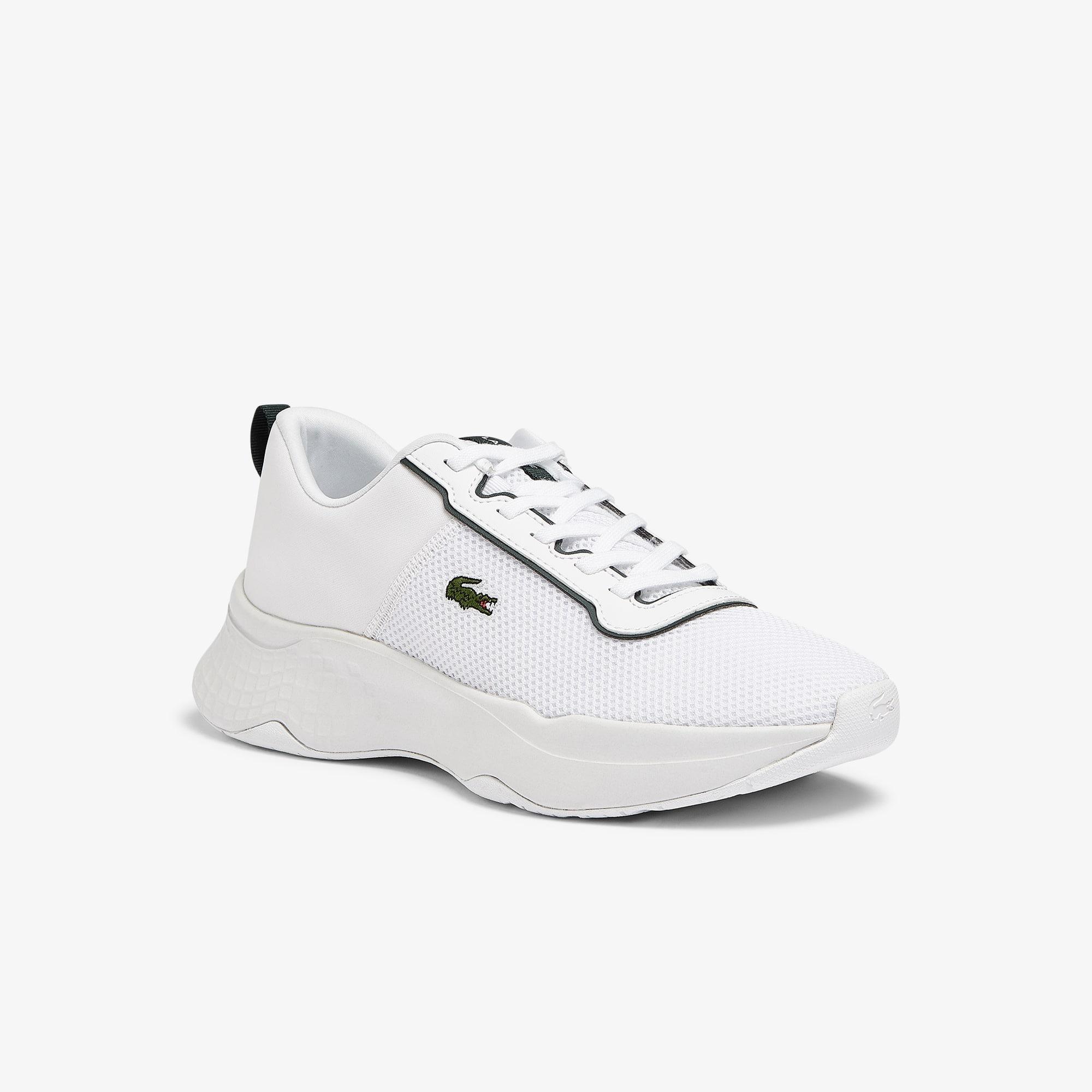 Lacoste Sneakers Court-Drive junior en tissu Taille 37 Blanc/vert Foncé