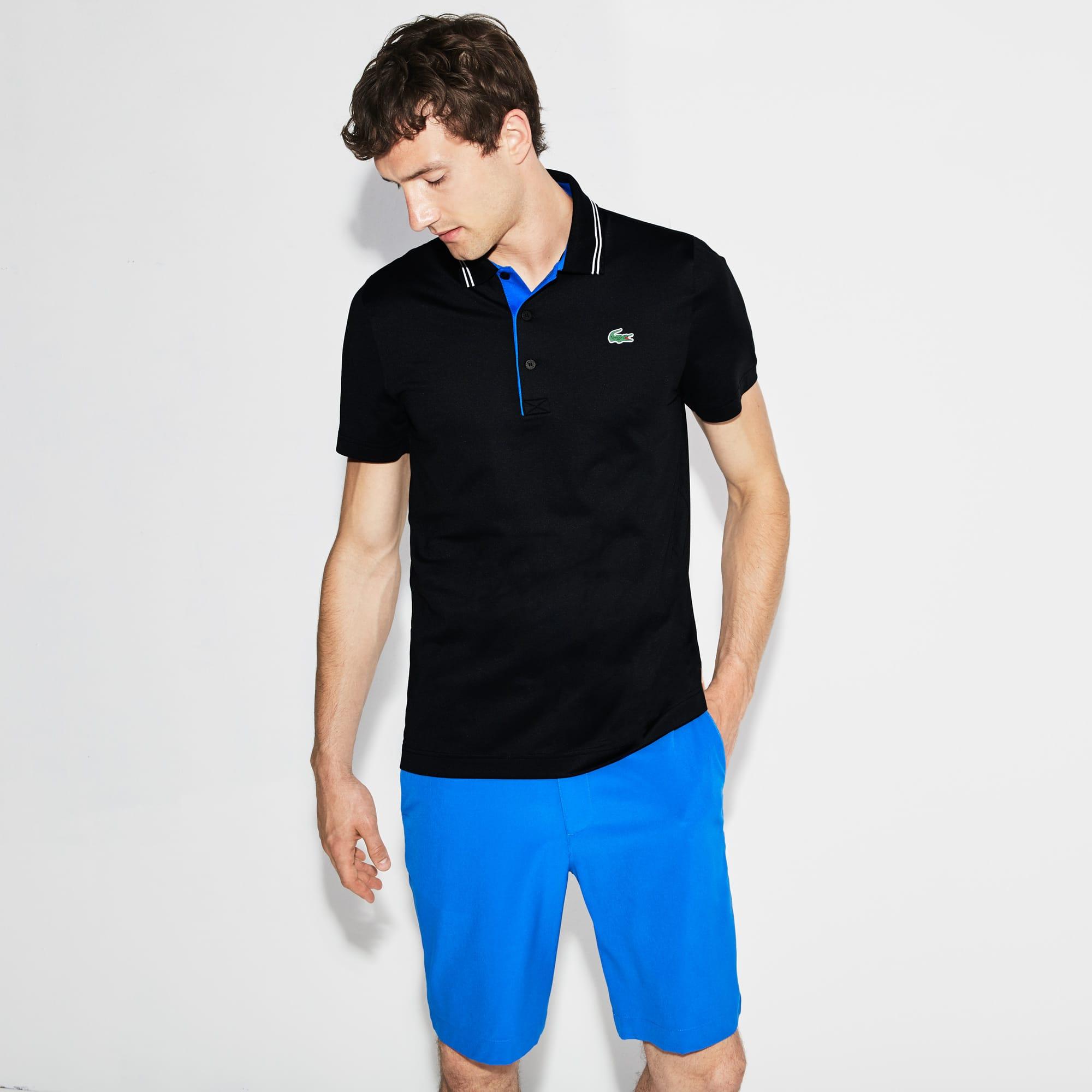 Polo Golf Lacoste SPORT en jersey stretch technique avec marquage