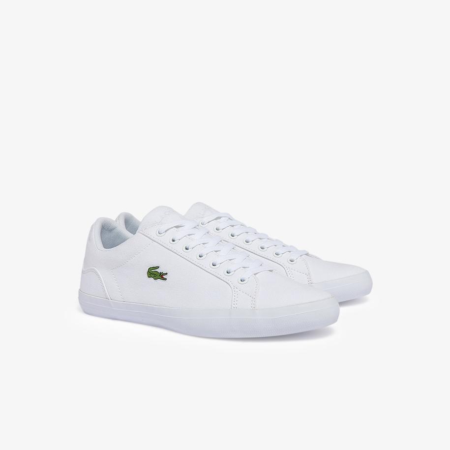 Sneakers Lerond Homme En Toile Lacoste